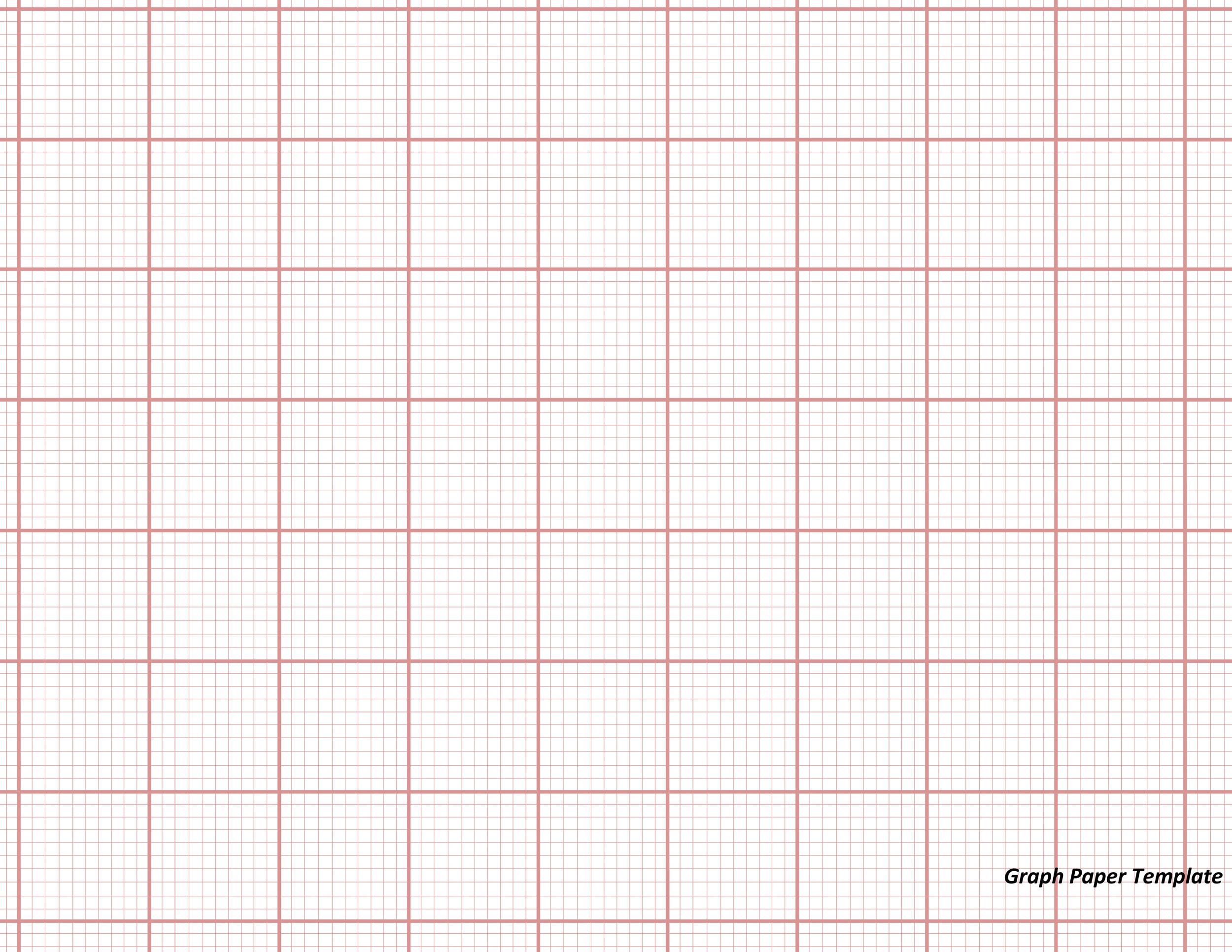 30 Free Printable Graph Paper Templates Word PDF Template Lab – Free Graph Template
