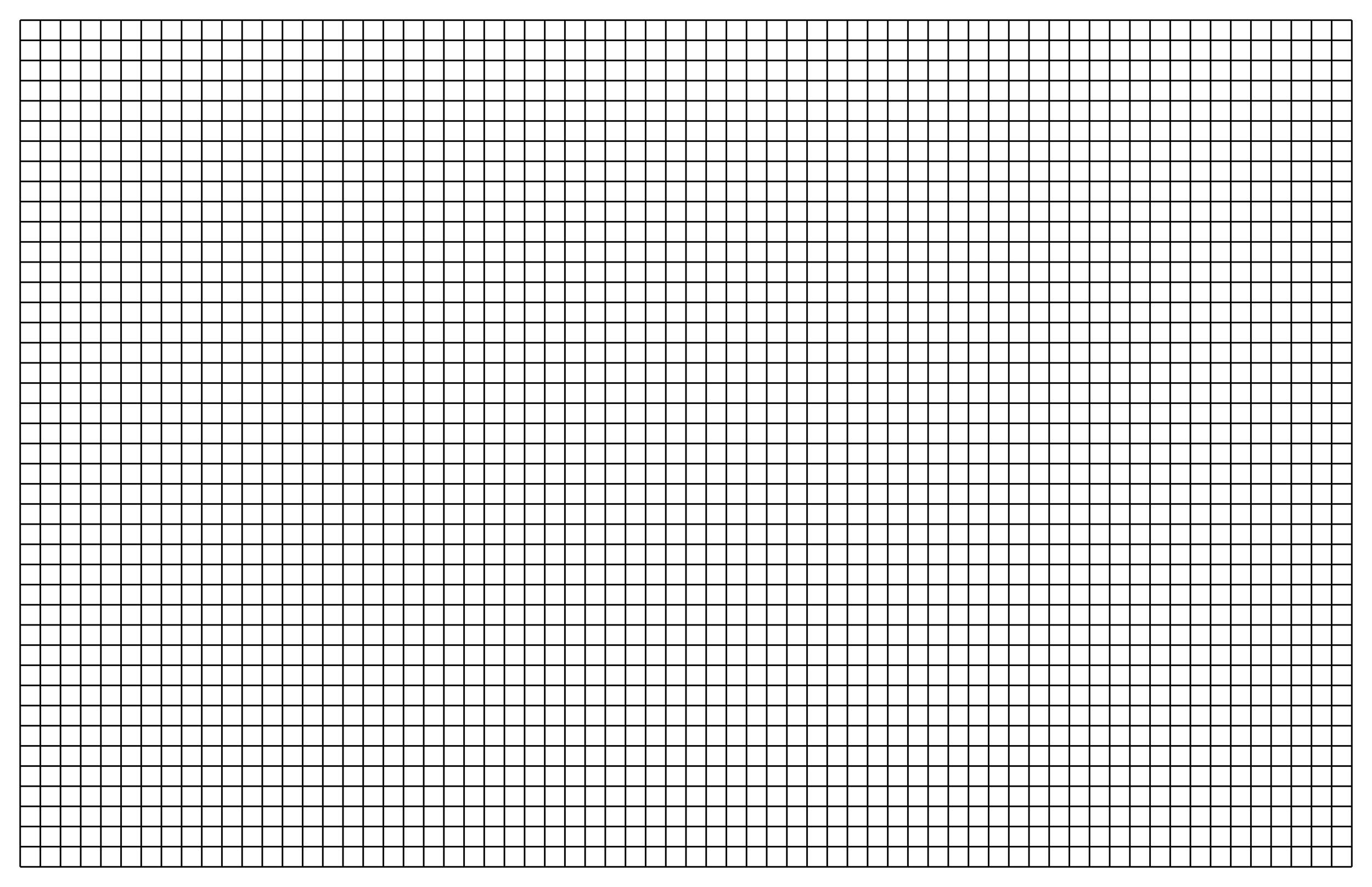 Free Graph Paper Template 19