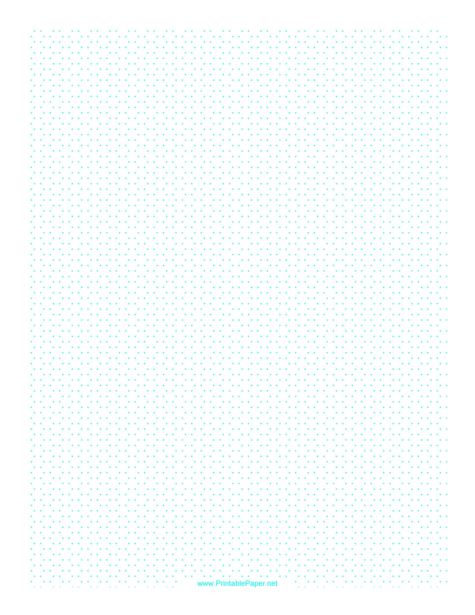 Free Graph Paper Template 25