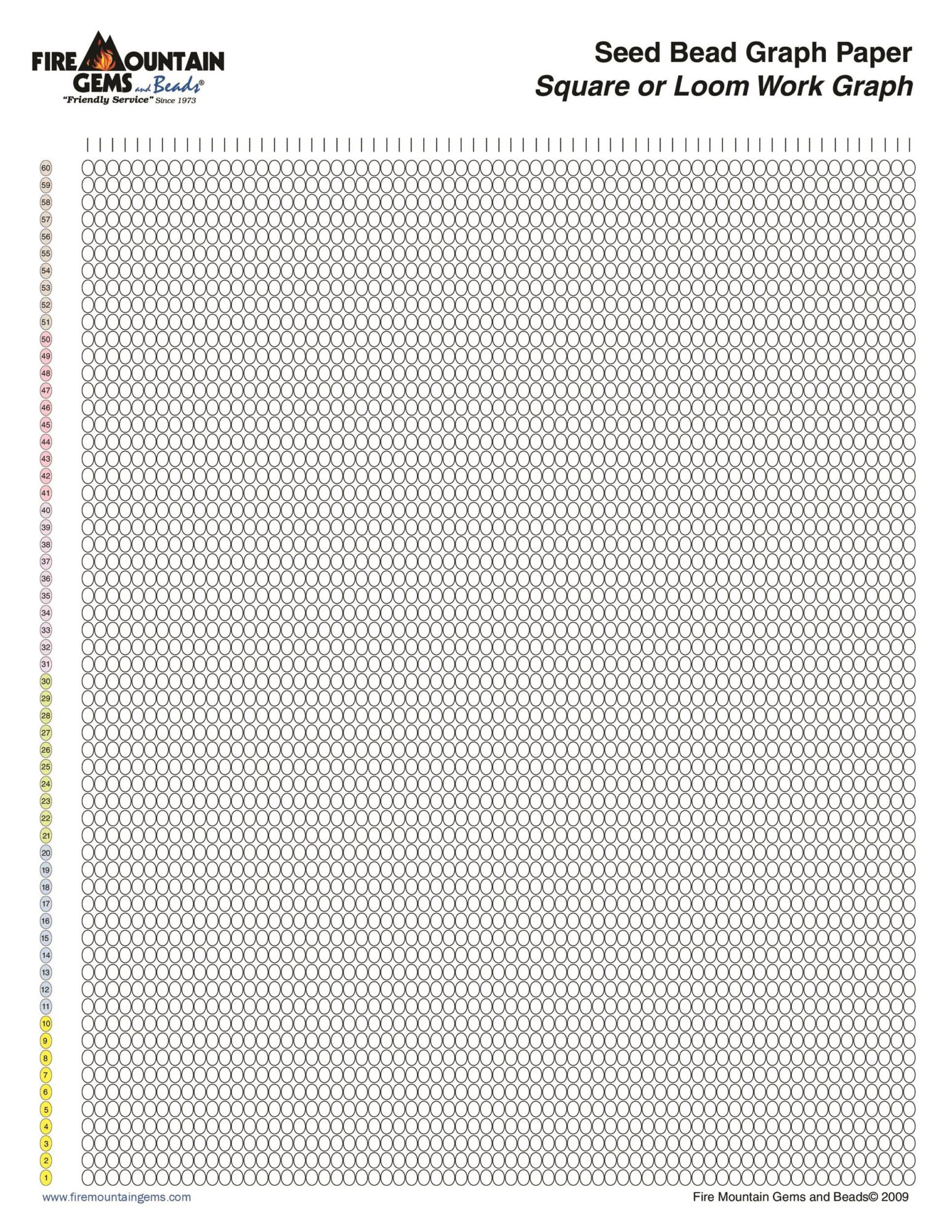 Free Graph Paper Template 30