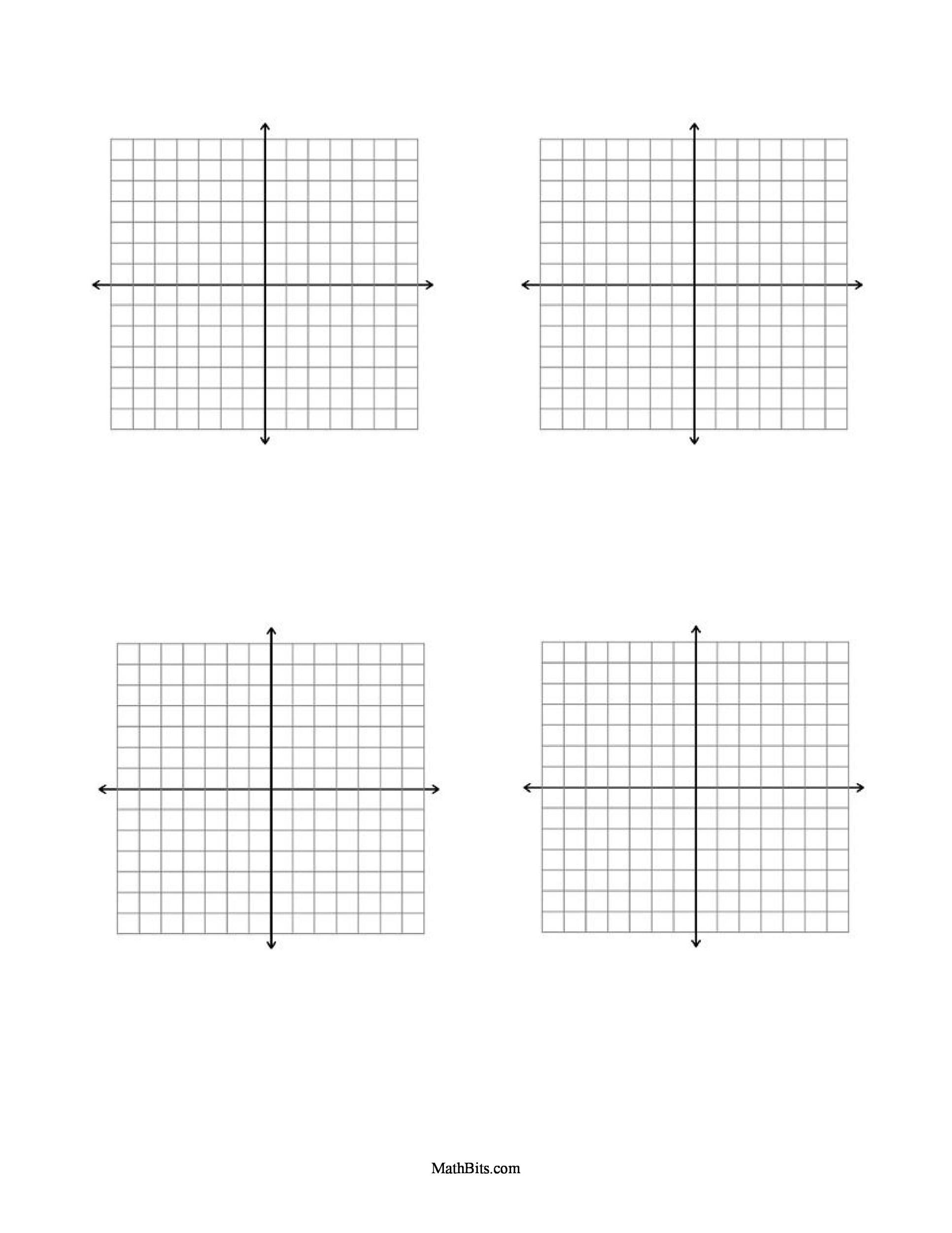 Free Graph Paper Template 34