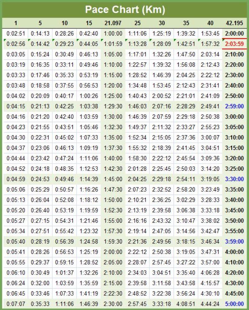 Free marathon pace chart 04