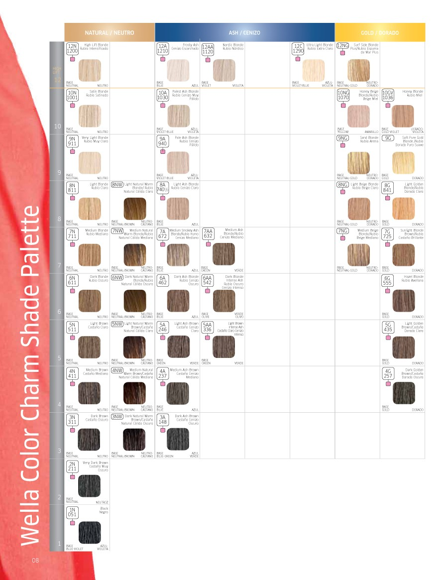 Free Redken color chart 05