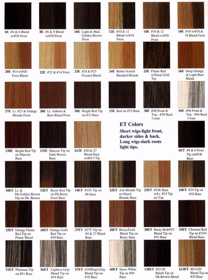 Free Redken color chart 24