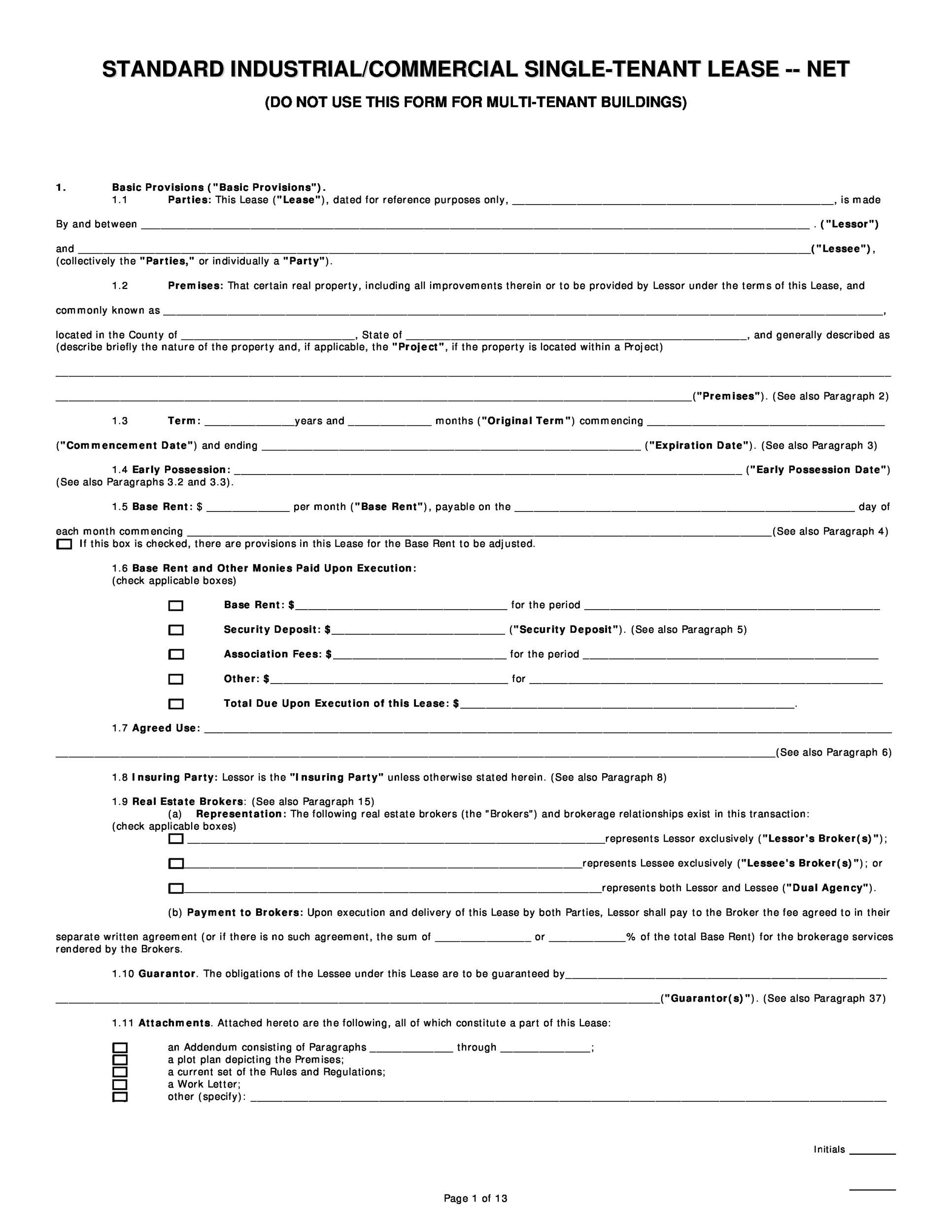 Free Sublease Agreement Template 43