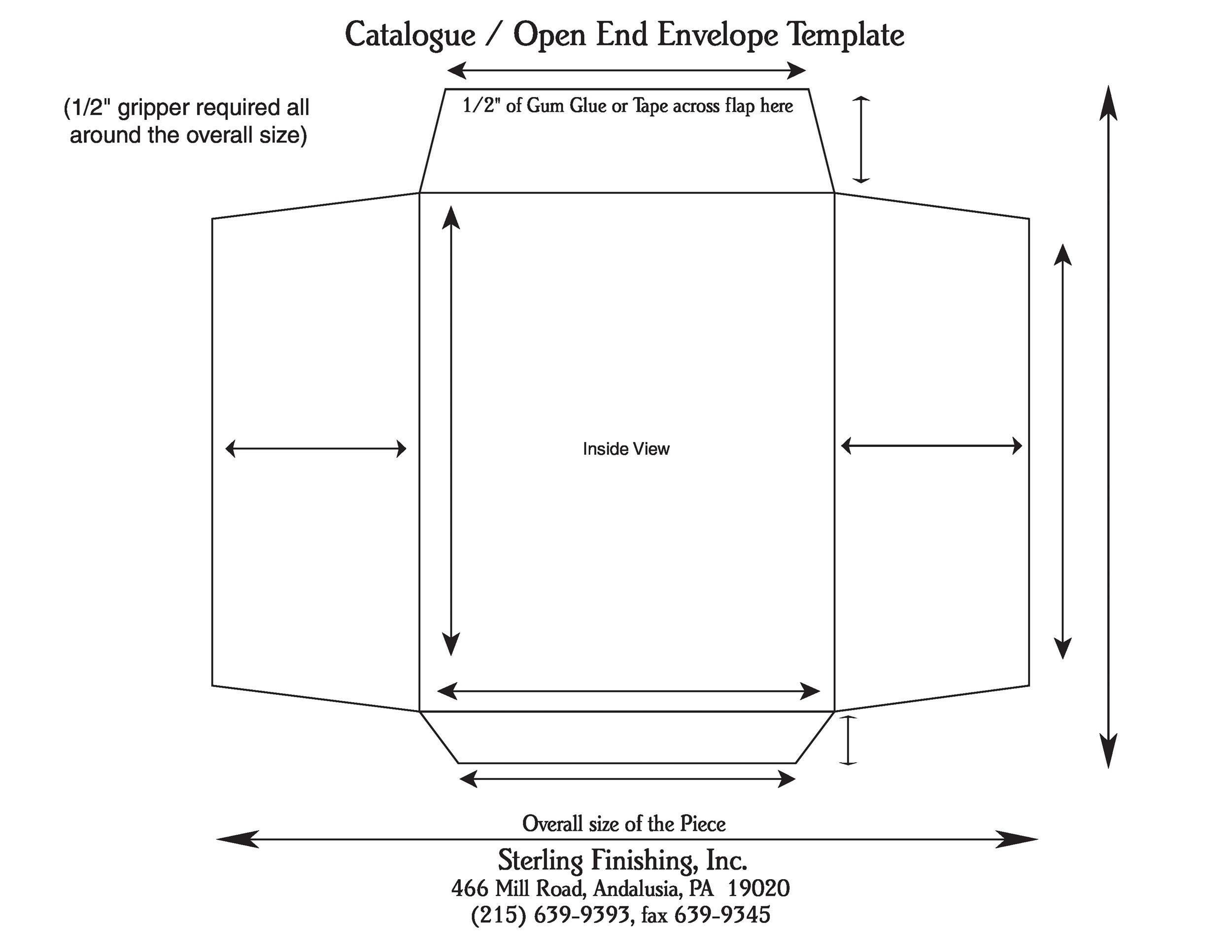 graphic about Printable Envelope Template Pdf referred to as 40+ Absolutely free Envelope Templates (Phrase + PDF) ᐅ Template Lab