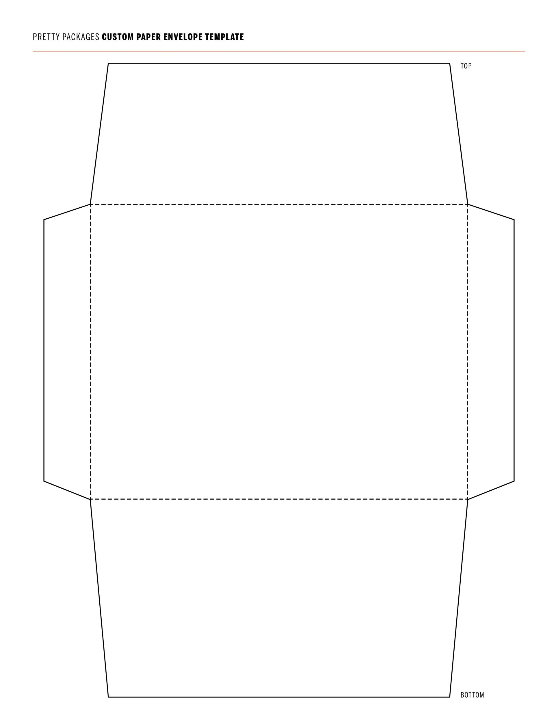 free envelope template 08 - Free Envelope Template