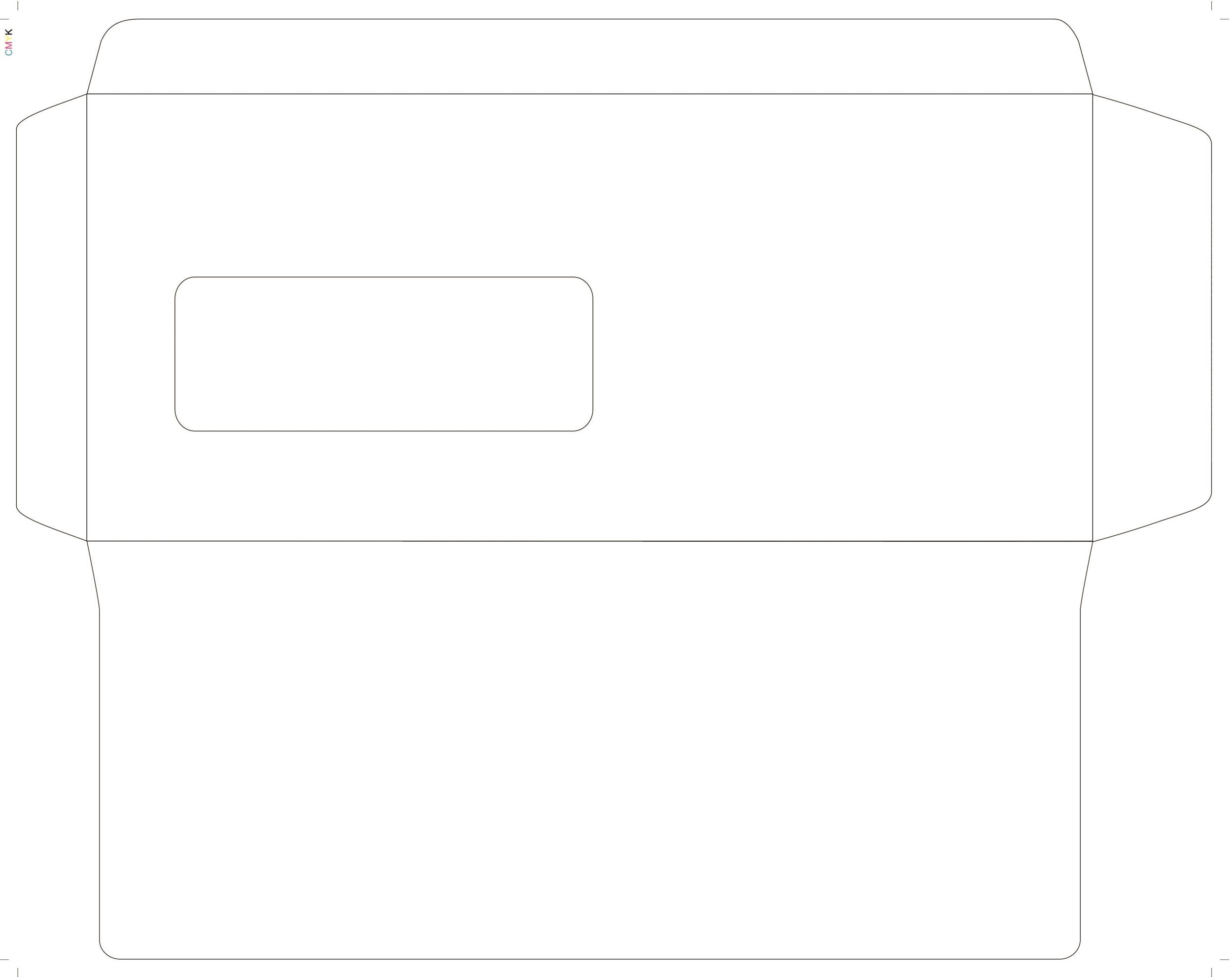 envelope template 11