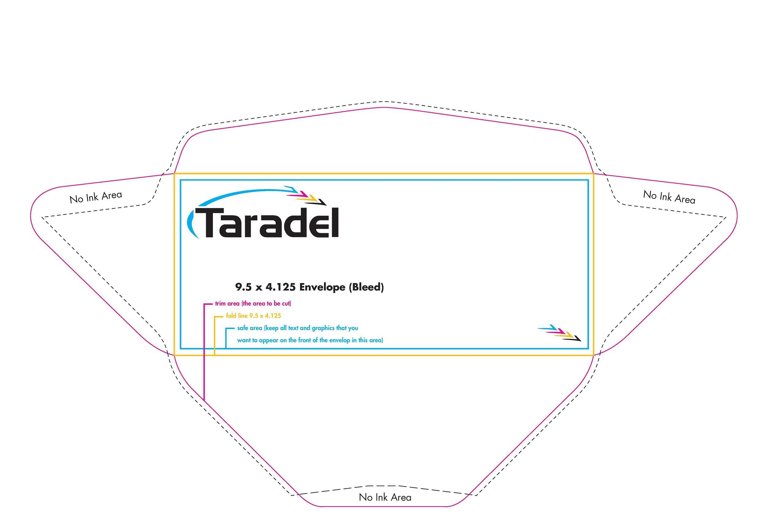 Free envelope template 13