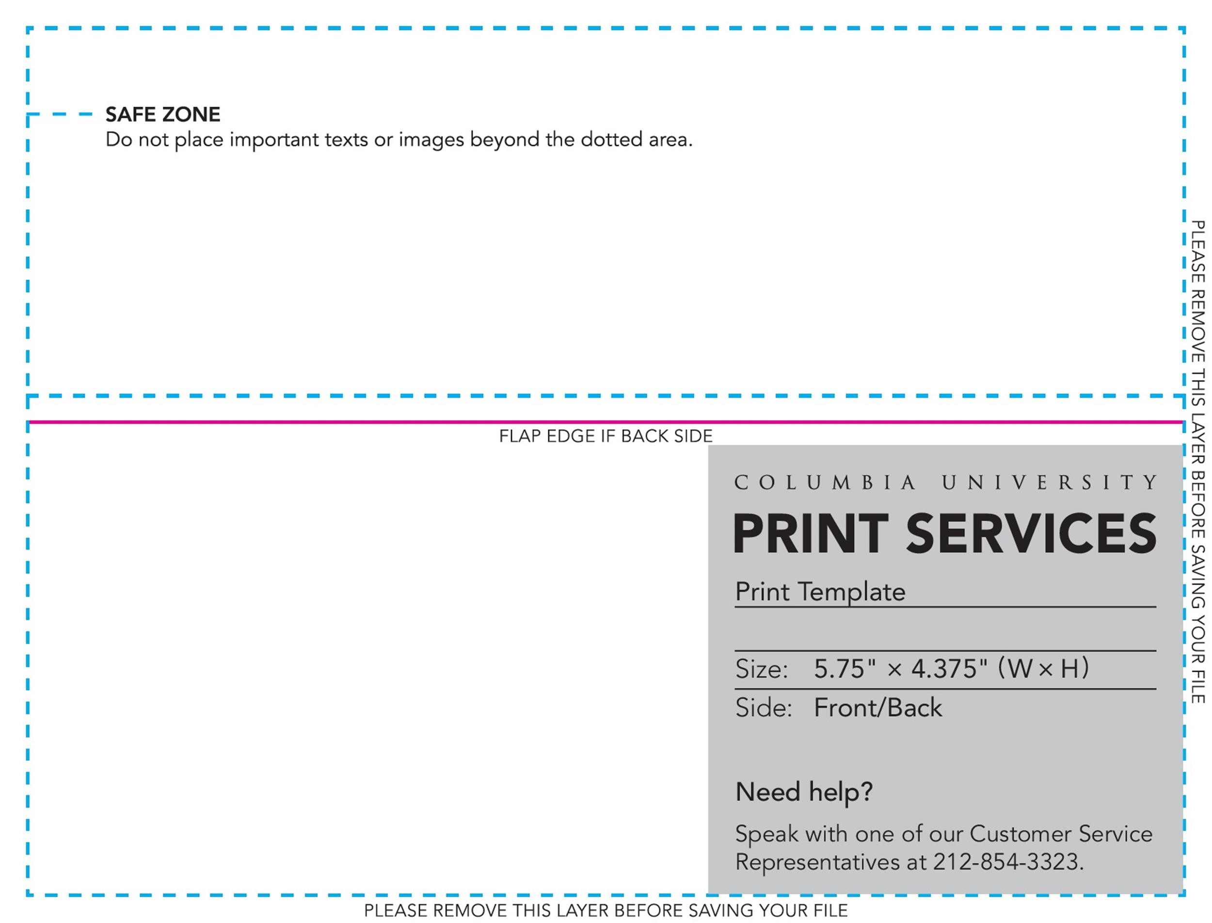 Free envelope template 14