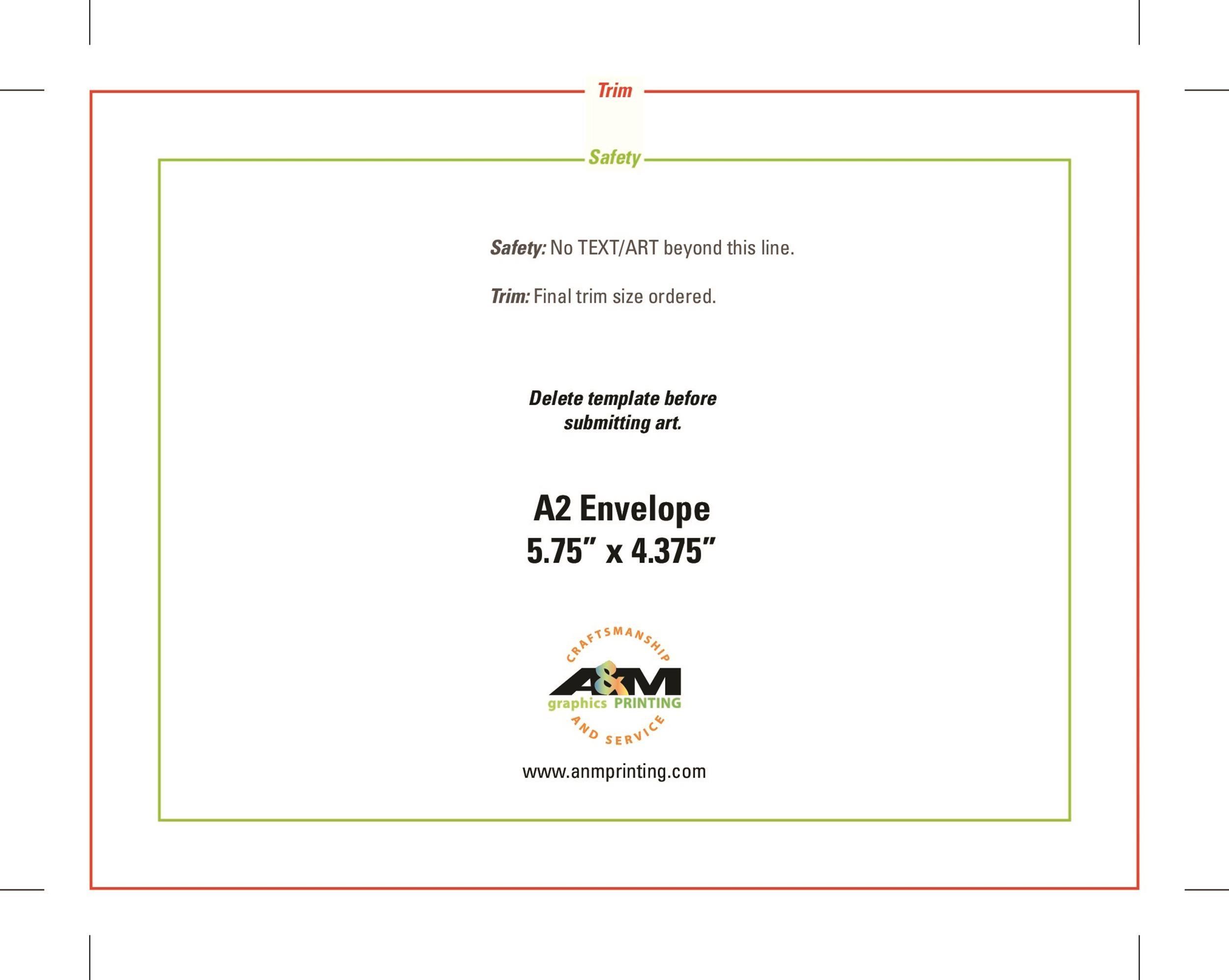 Free envelope template 15