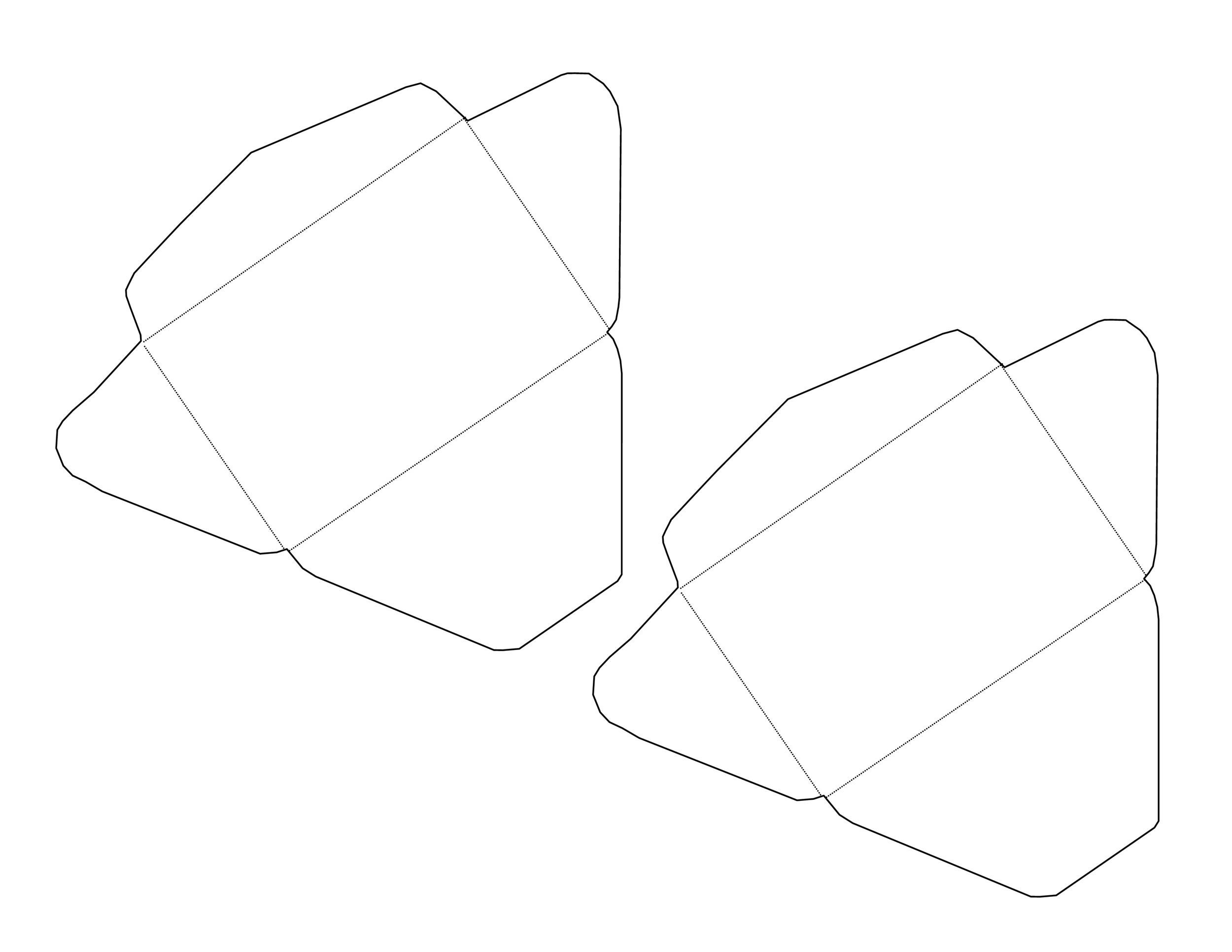 Free envelope template 17