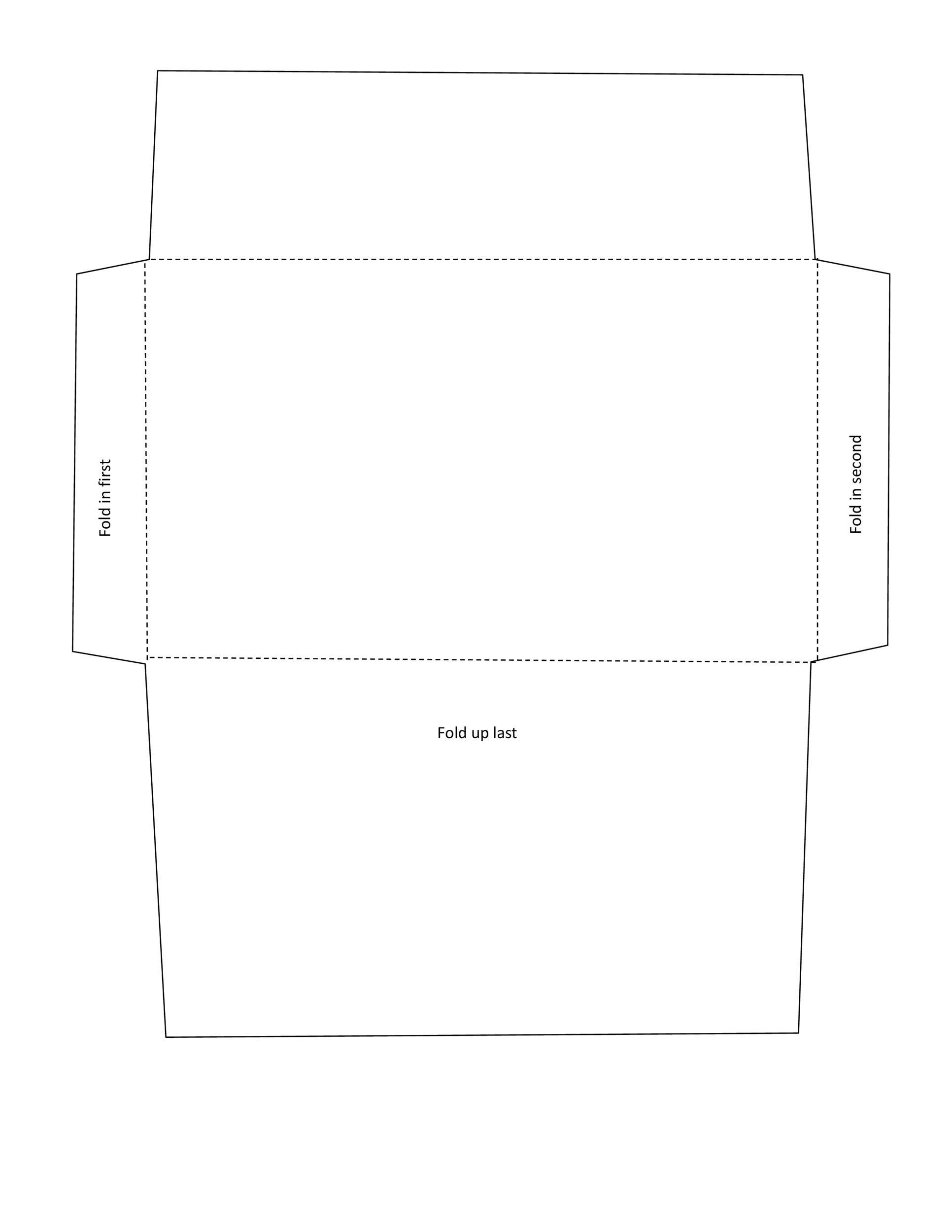 Free envelope template 18