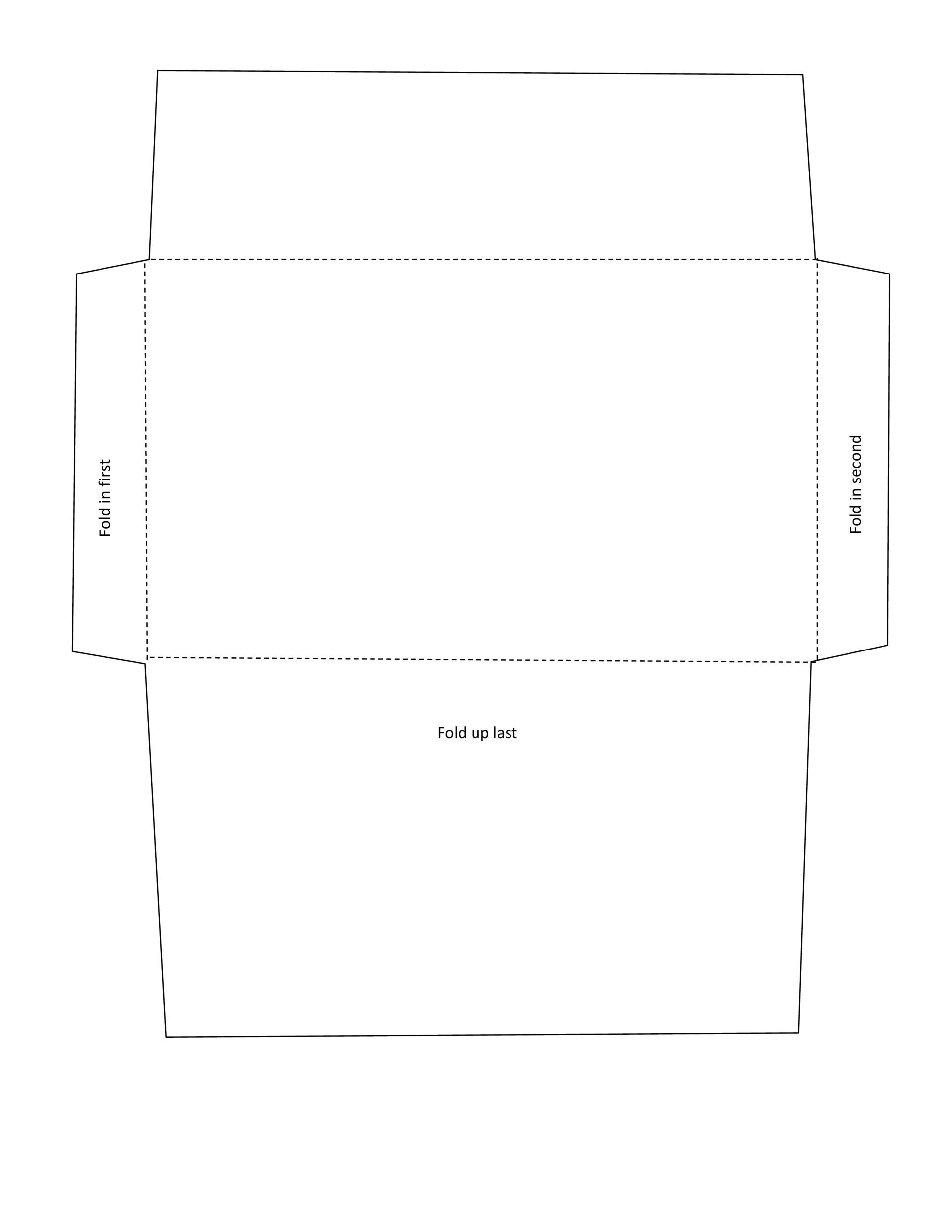 Free envelope template 18