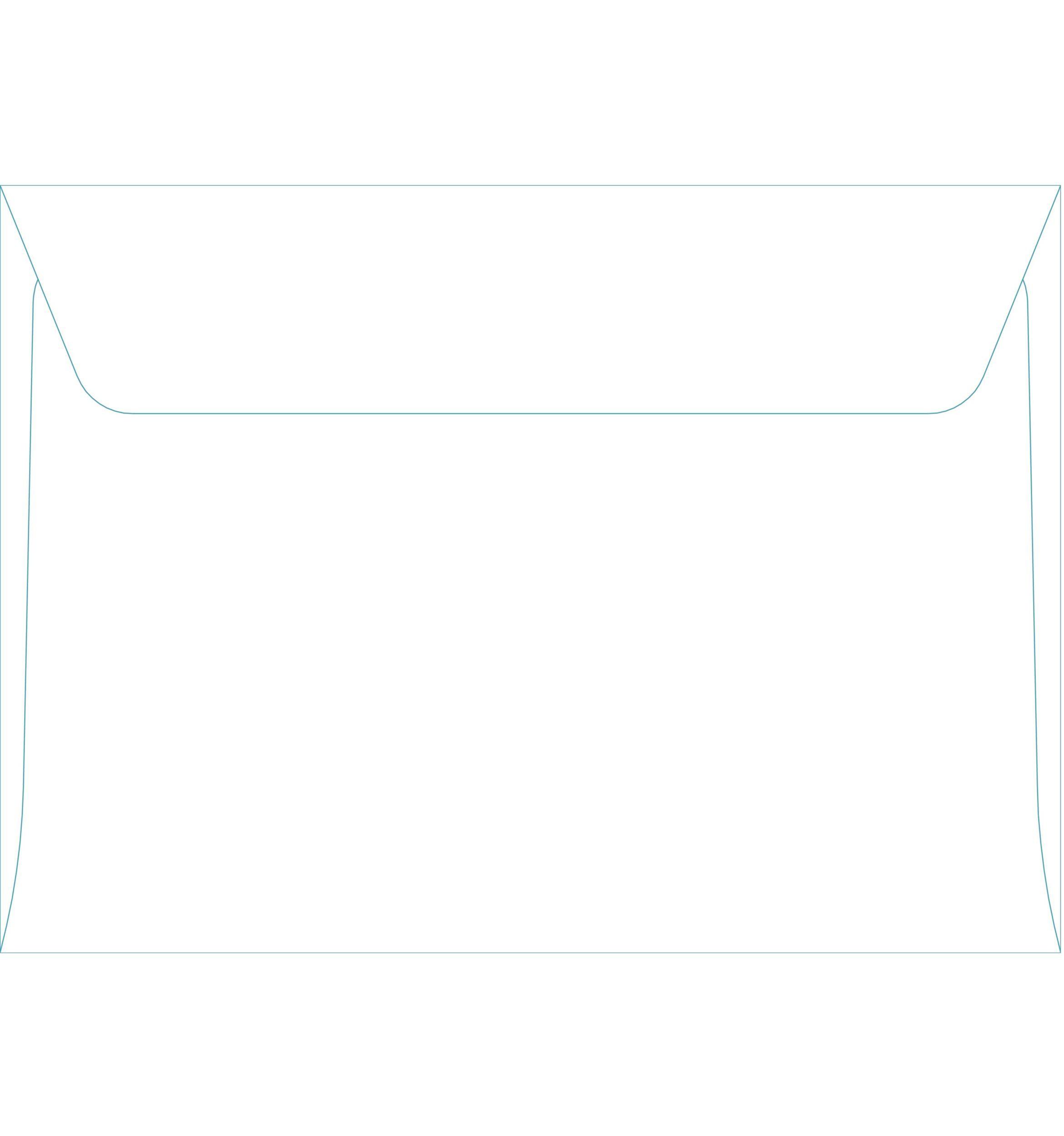 Free envelope template 22