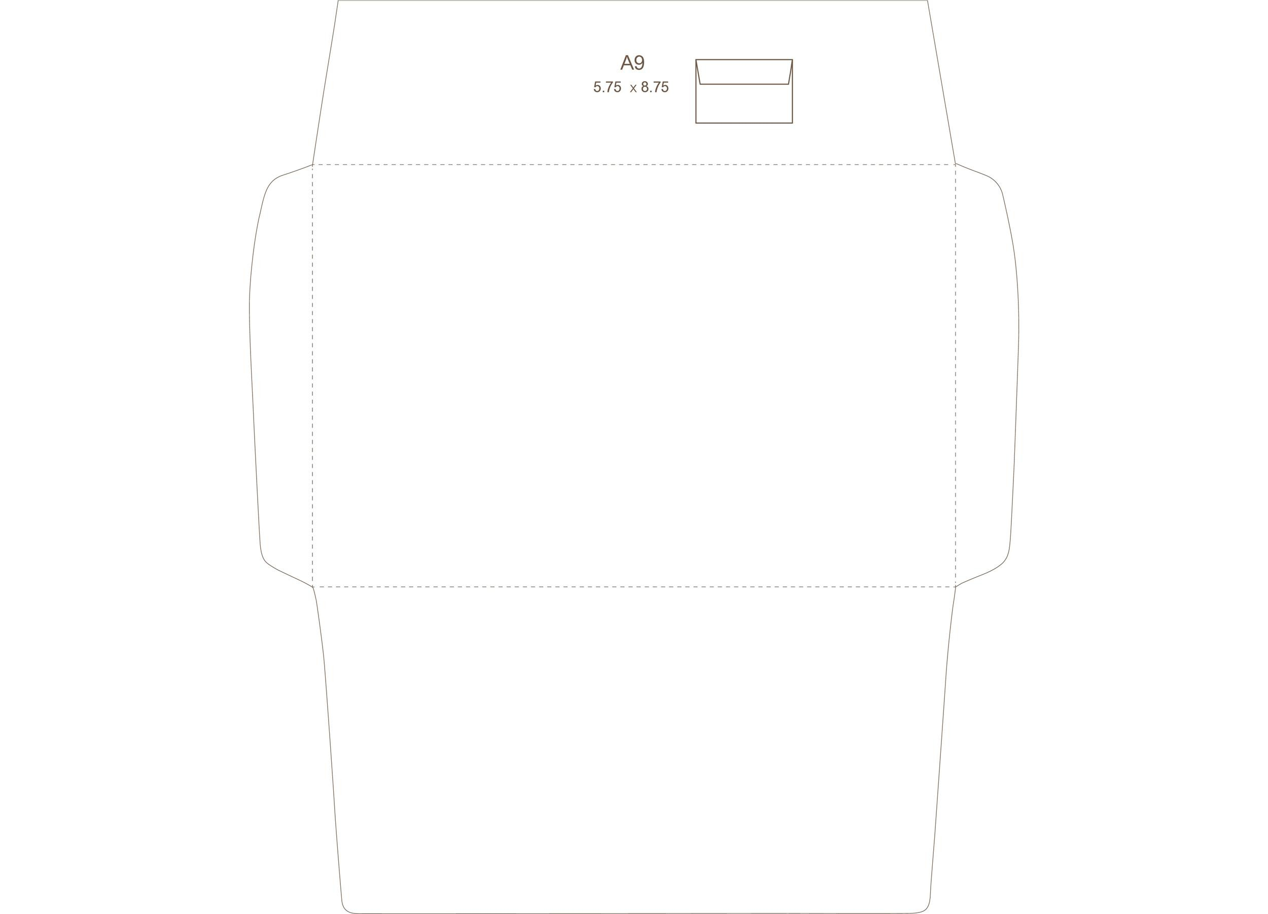 Free envelope template 23