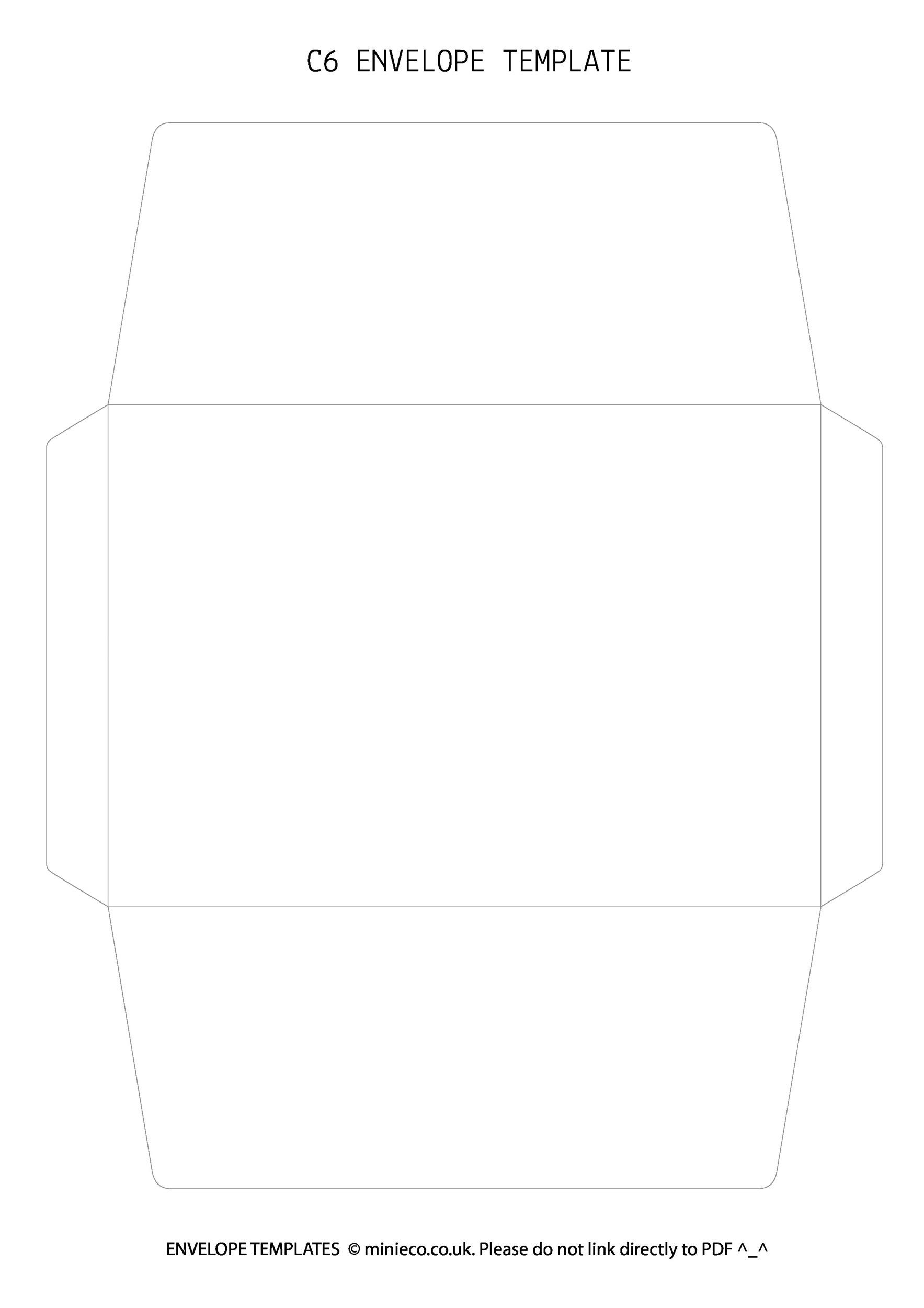 free envelope template 28 - Free Envelope Template