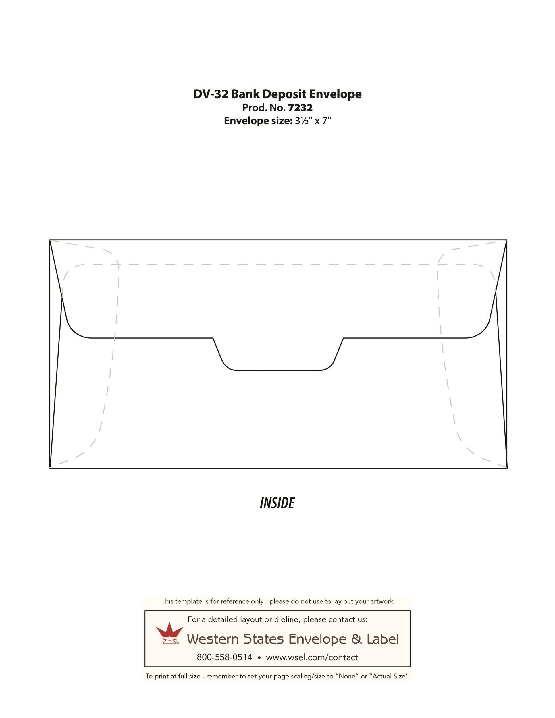 Free envelope template 30