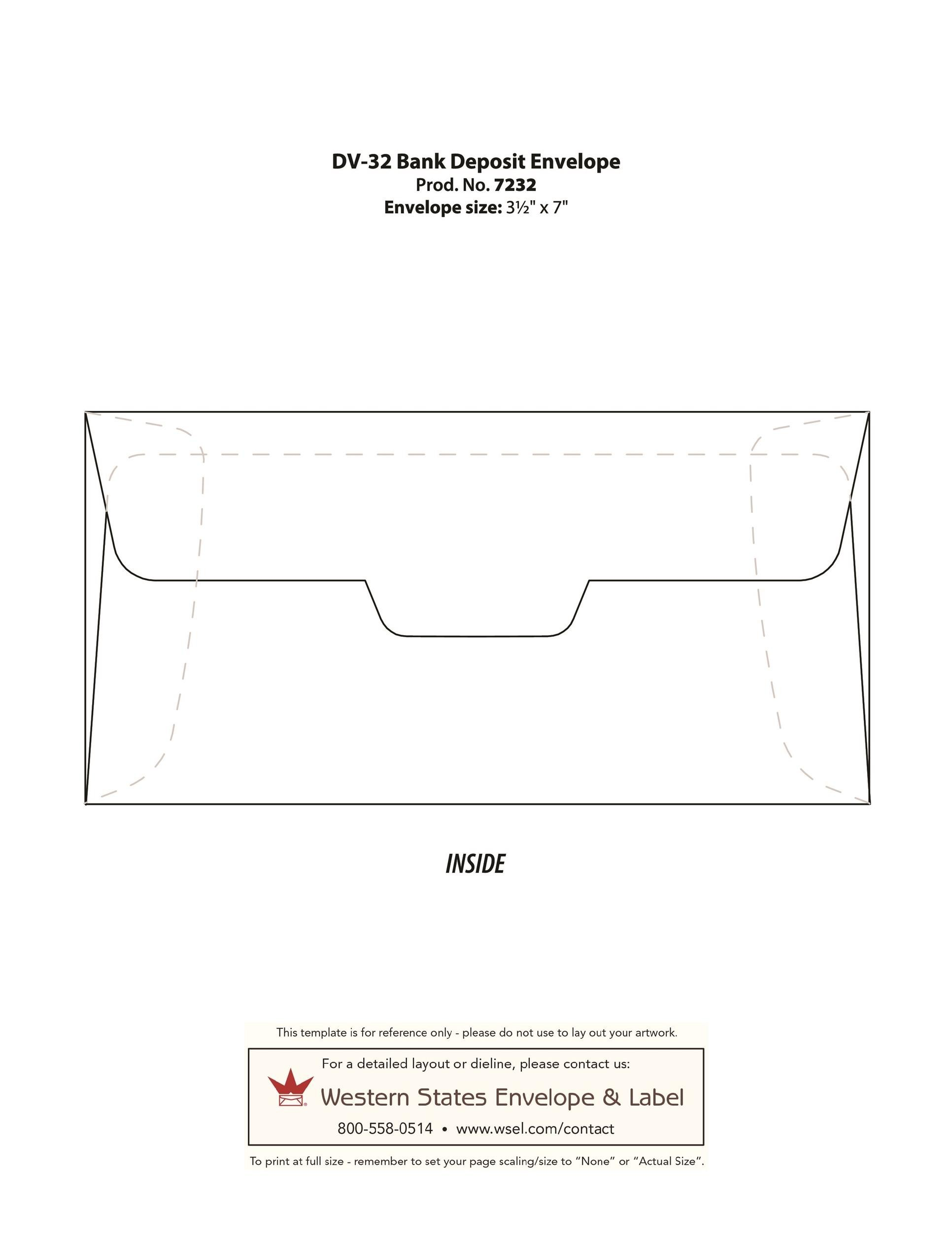 Free envelope template 30