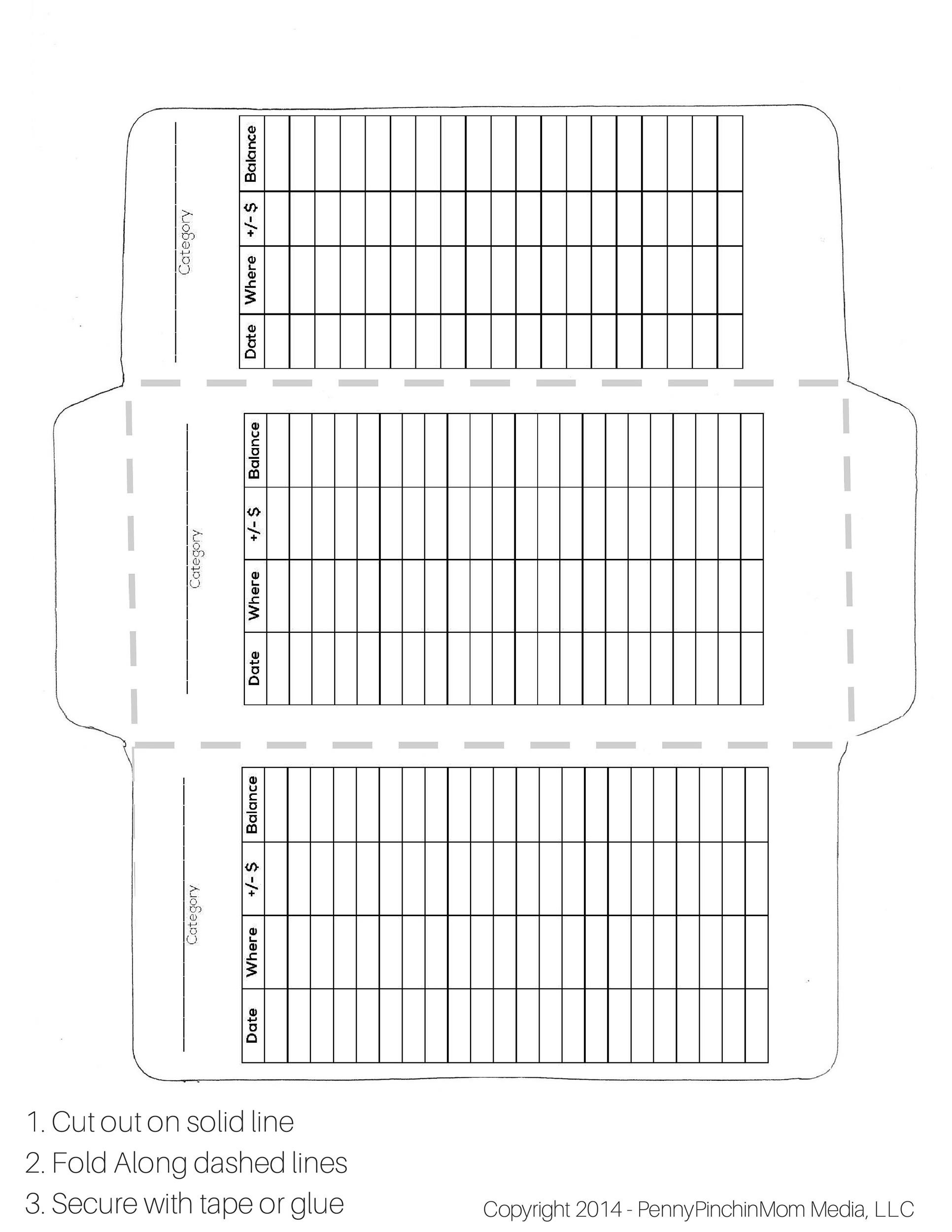 picture regarding Free Printable Money Envelopes identified as 40+ Free of charge Envelope Templates (Term + PDF) ᐅ Template Lab