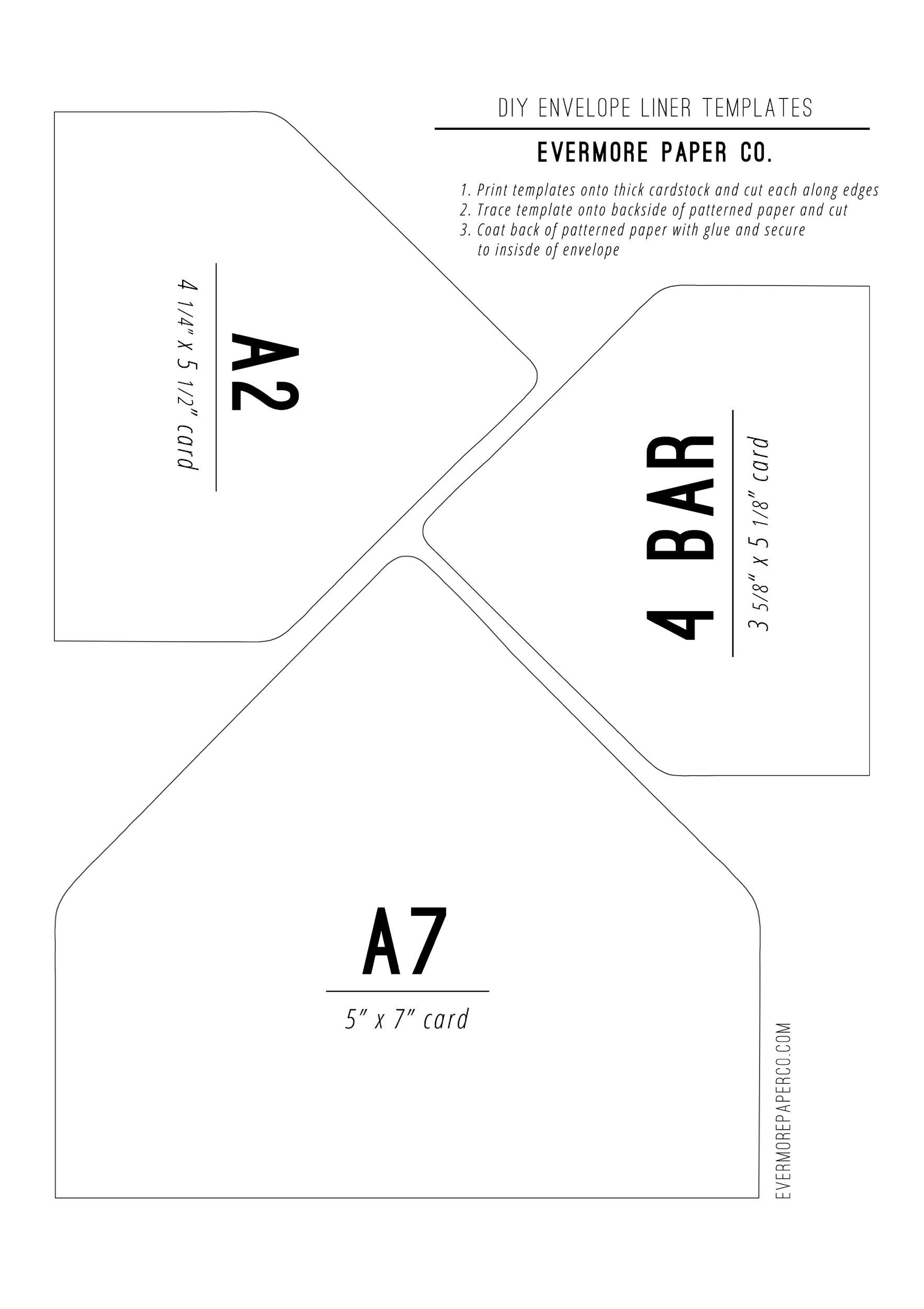 envelope template 32