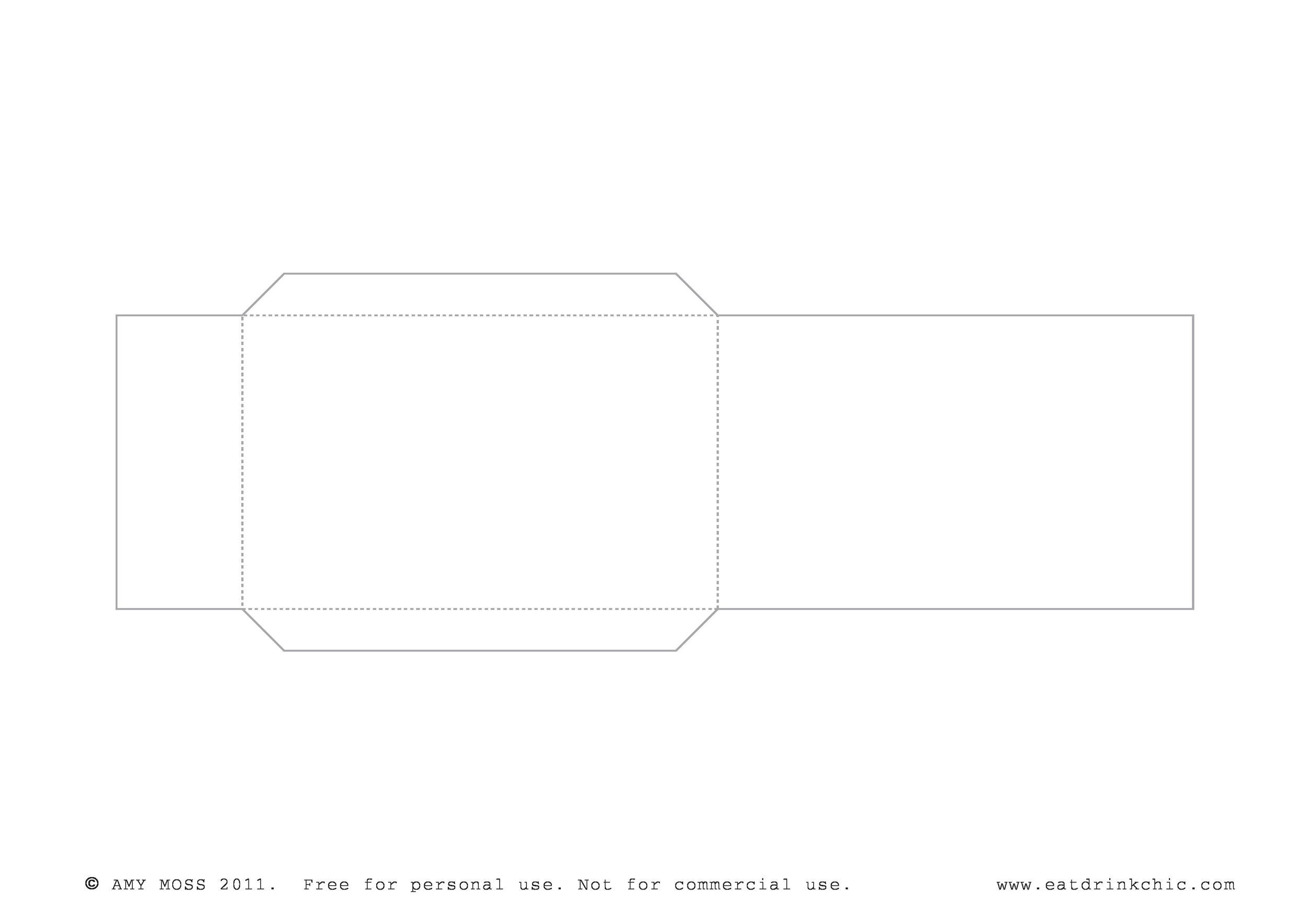 Free envelope template 34