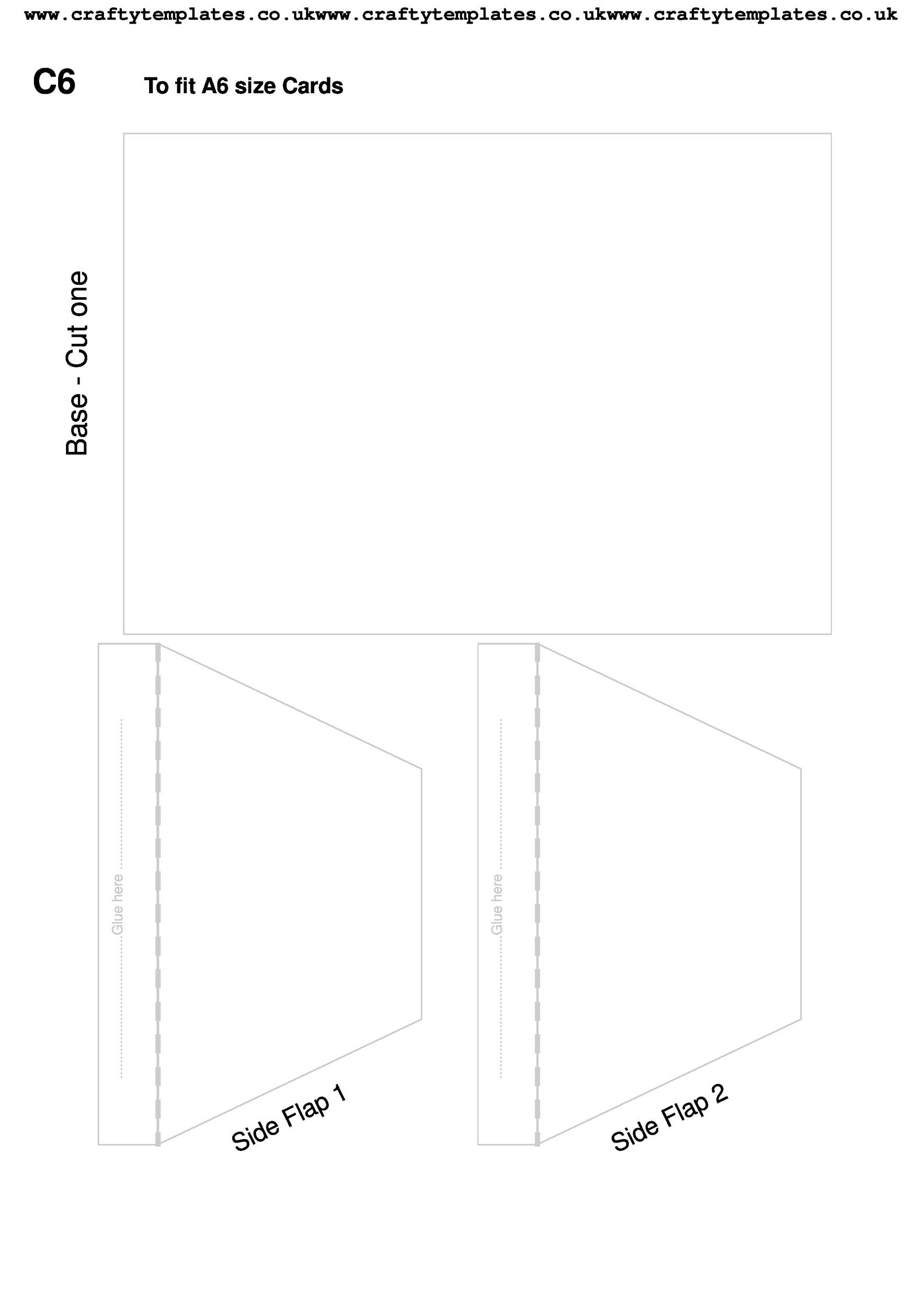 envelope template 43