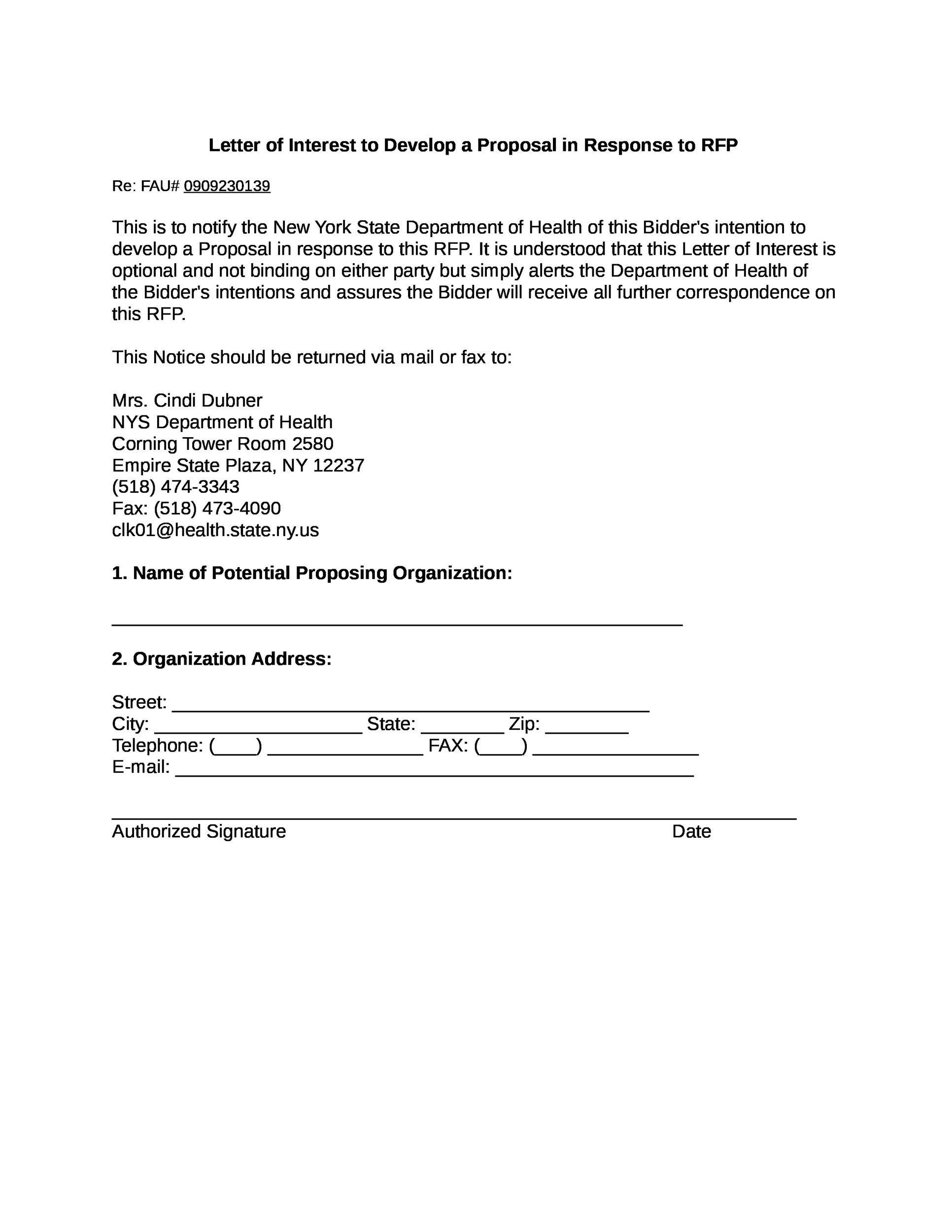 Free letter of interest 11