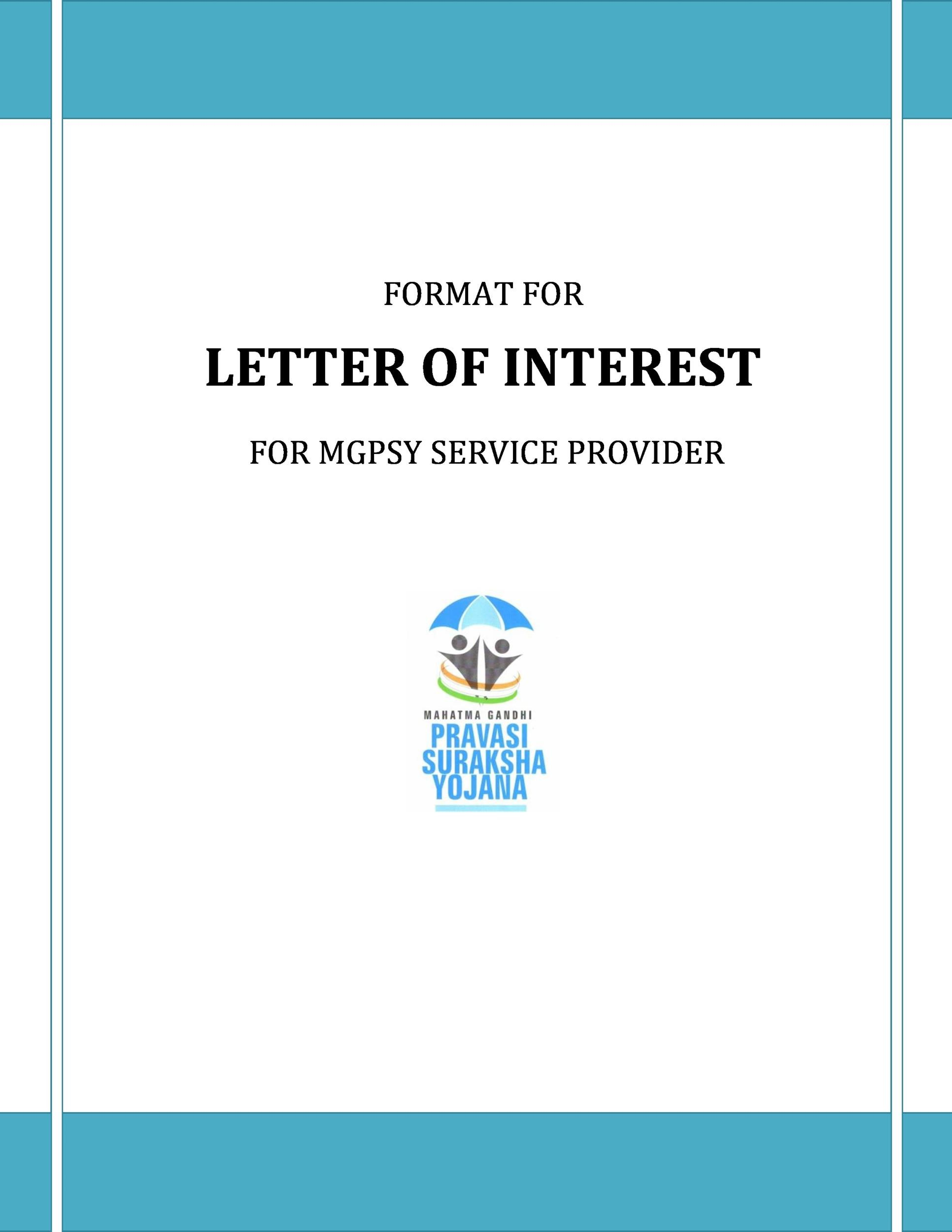 Free letter of interest 19
