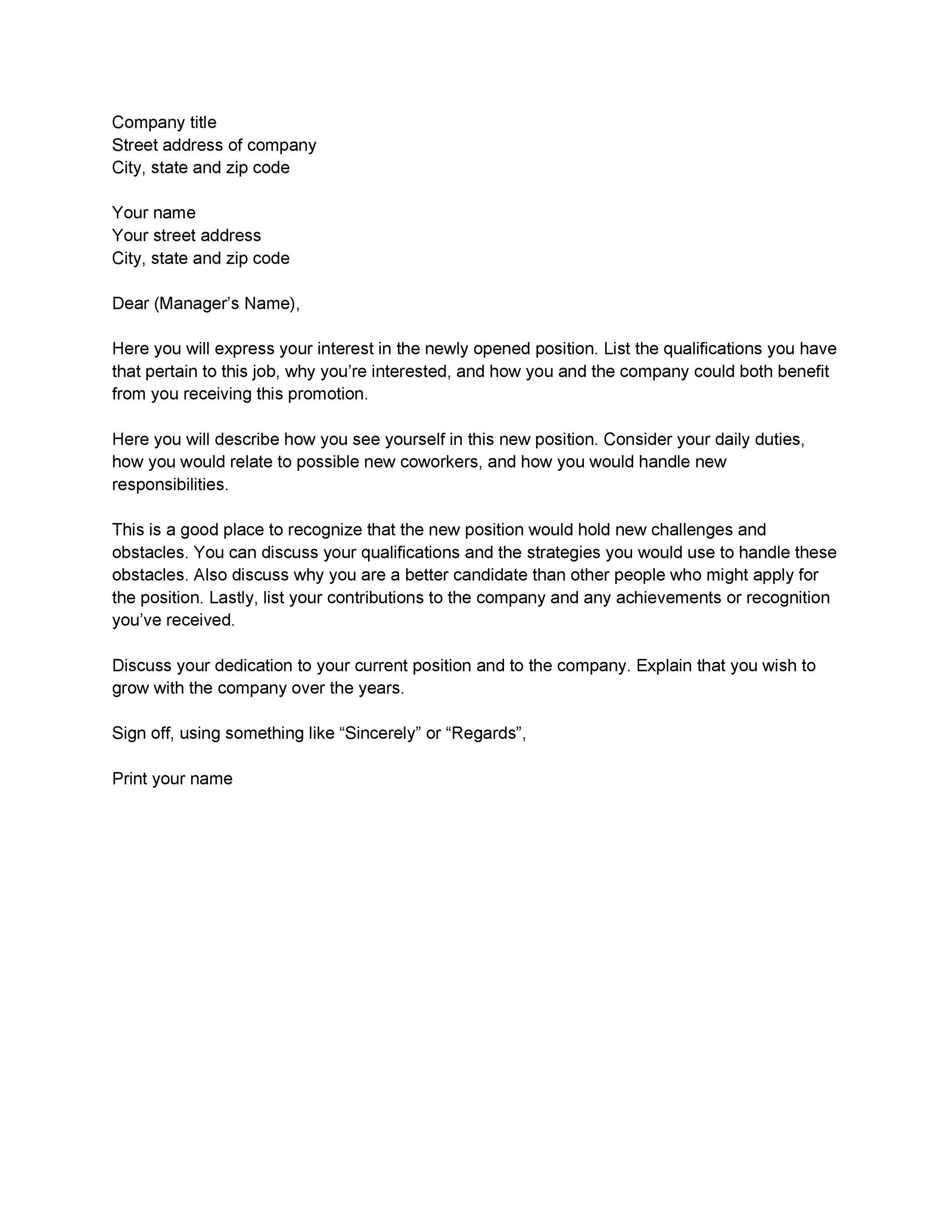 Letter of interest template for a job altavistaventures