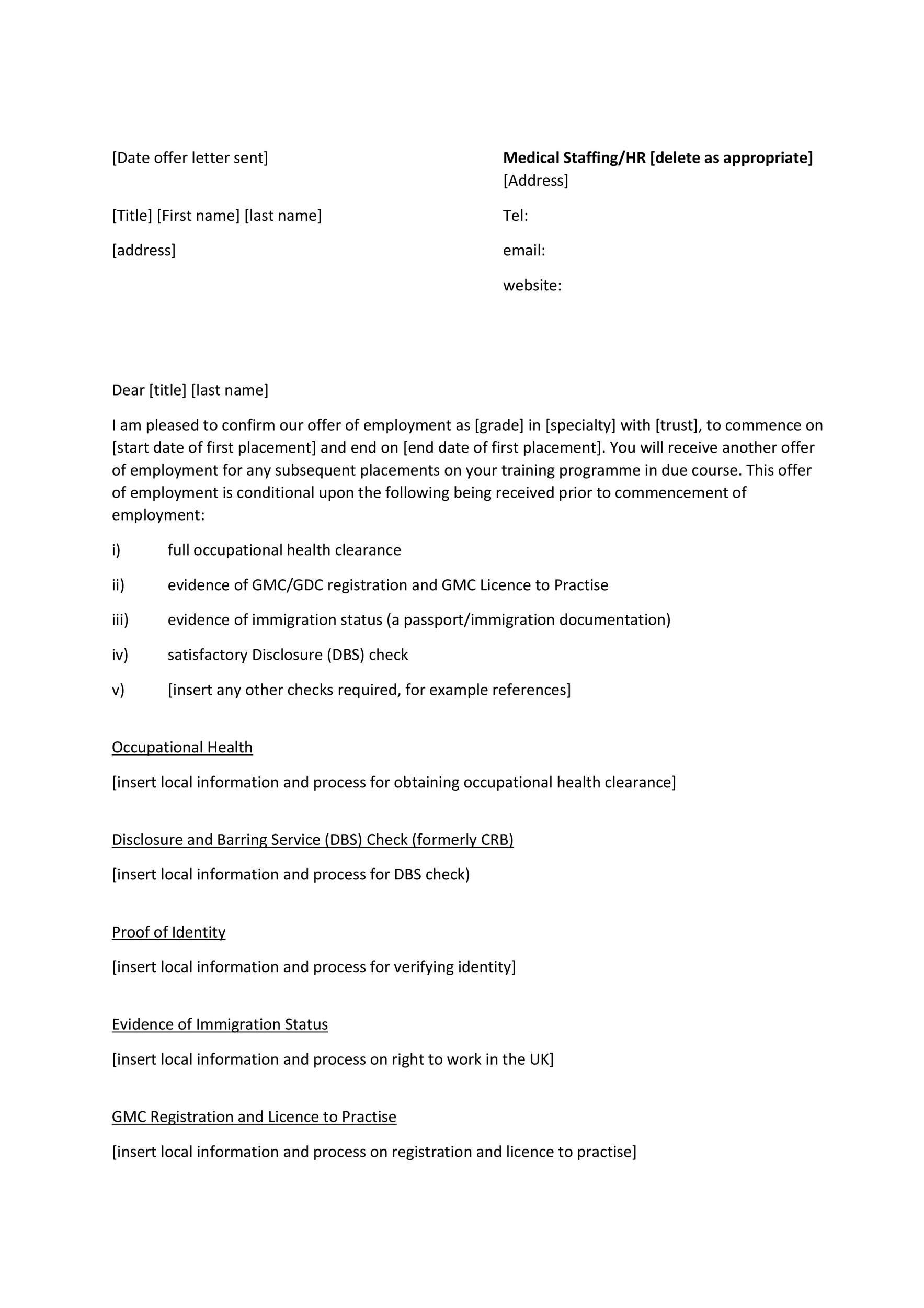 Free Offer letter 07