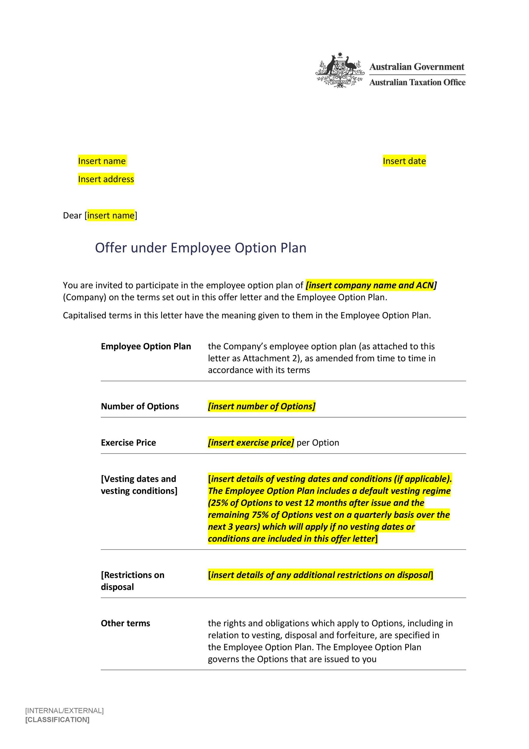 Free Offer letter 10