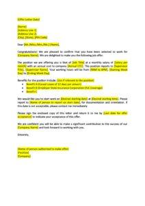 offer letter 42