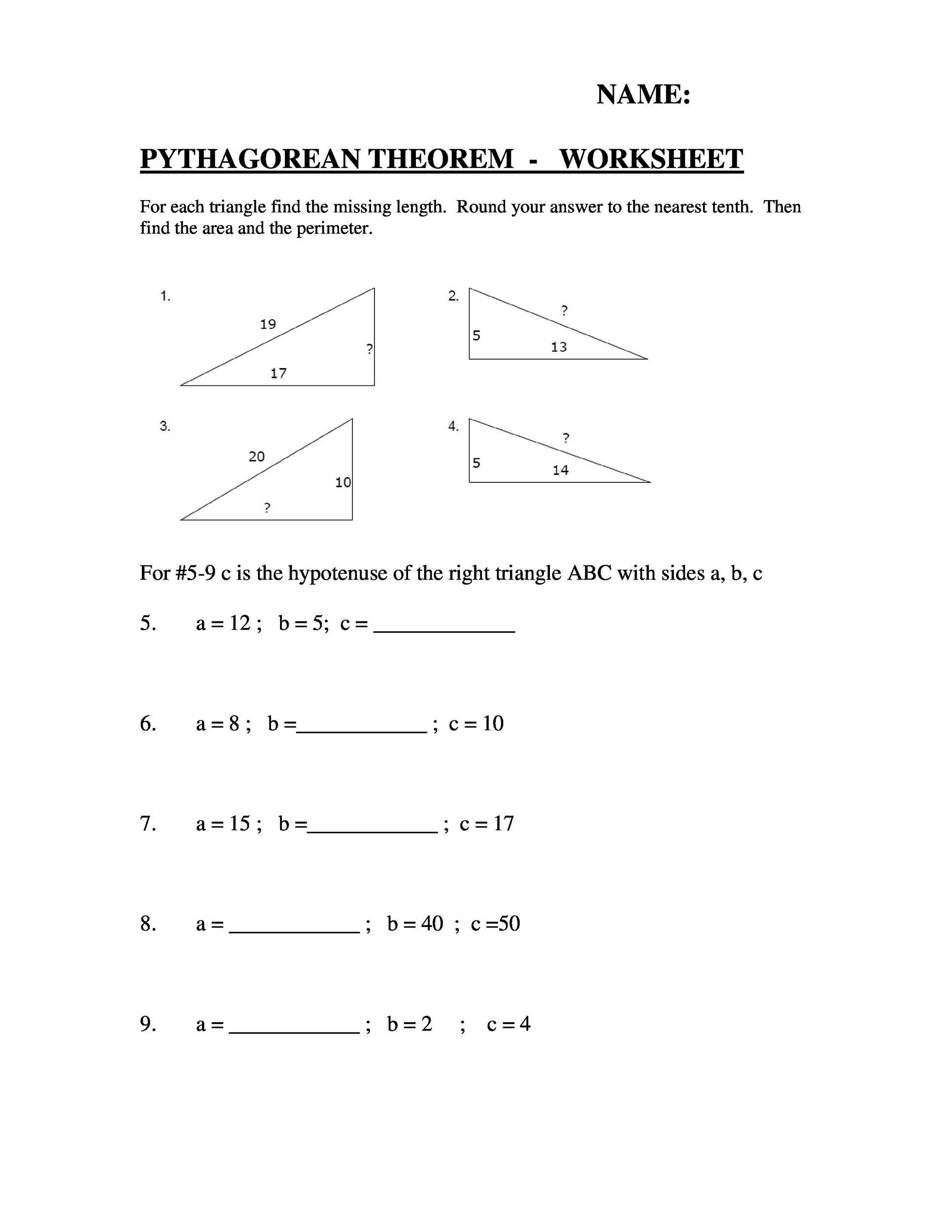 Free Pythagorean Theorem 02
