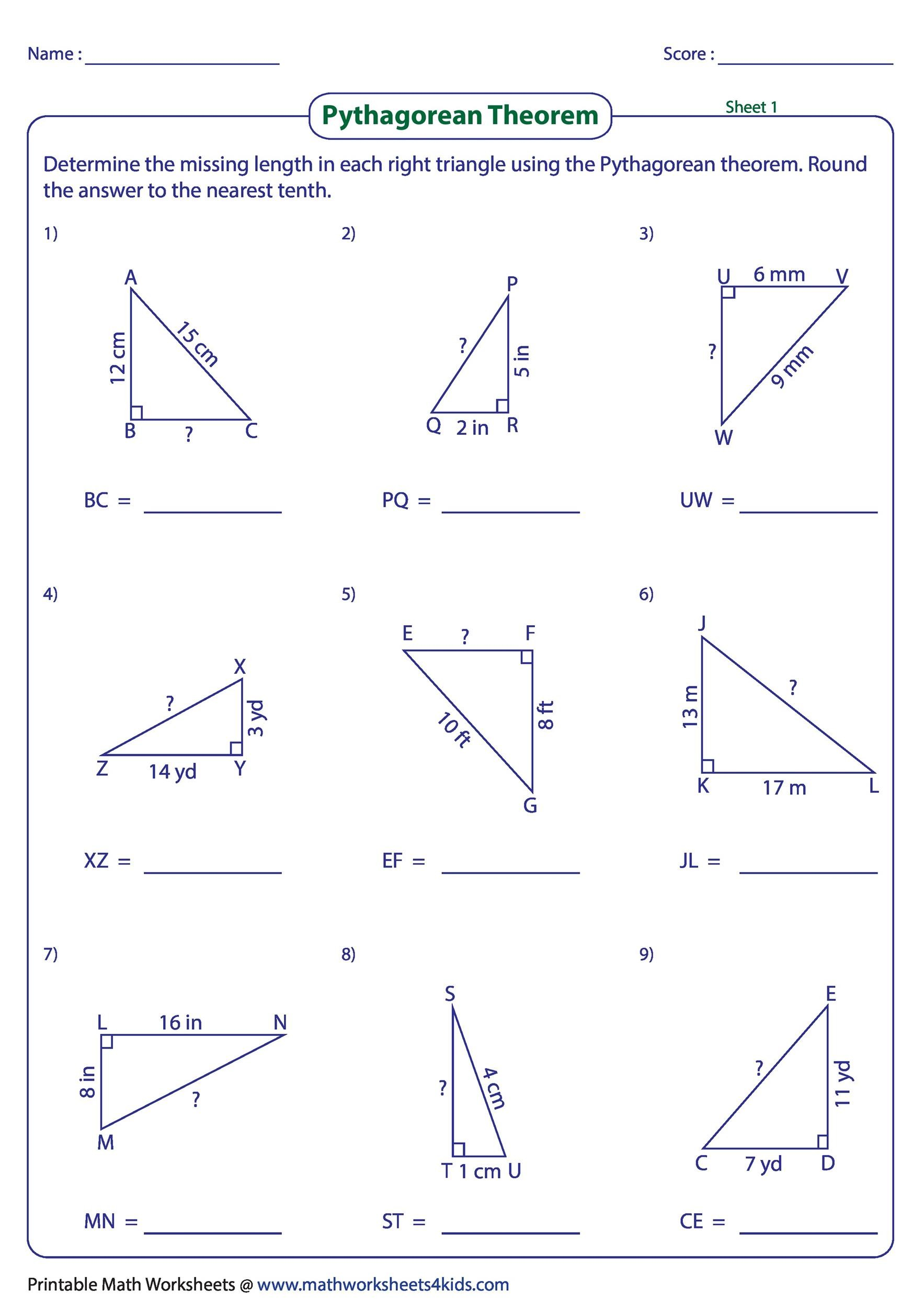 Free pythagorean theorem 06