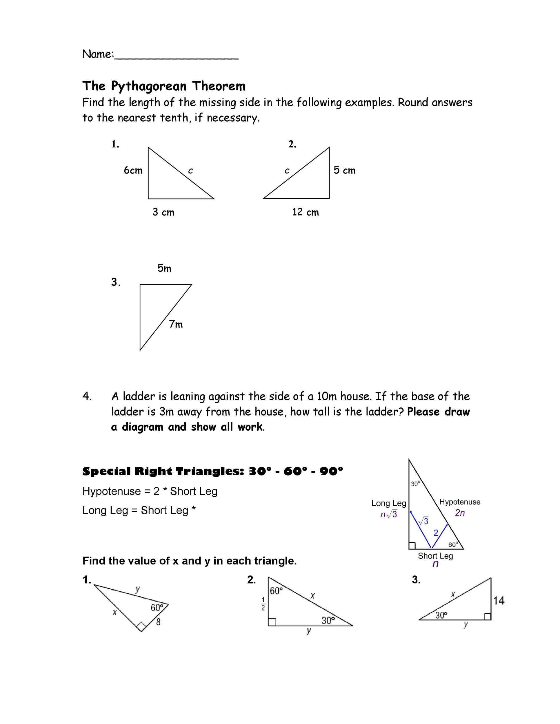 Free pythagorean theorem 27