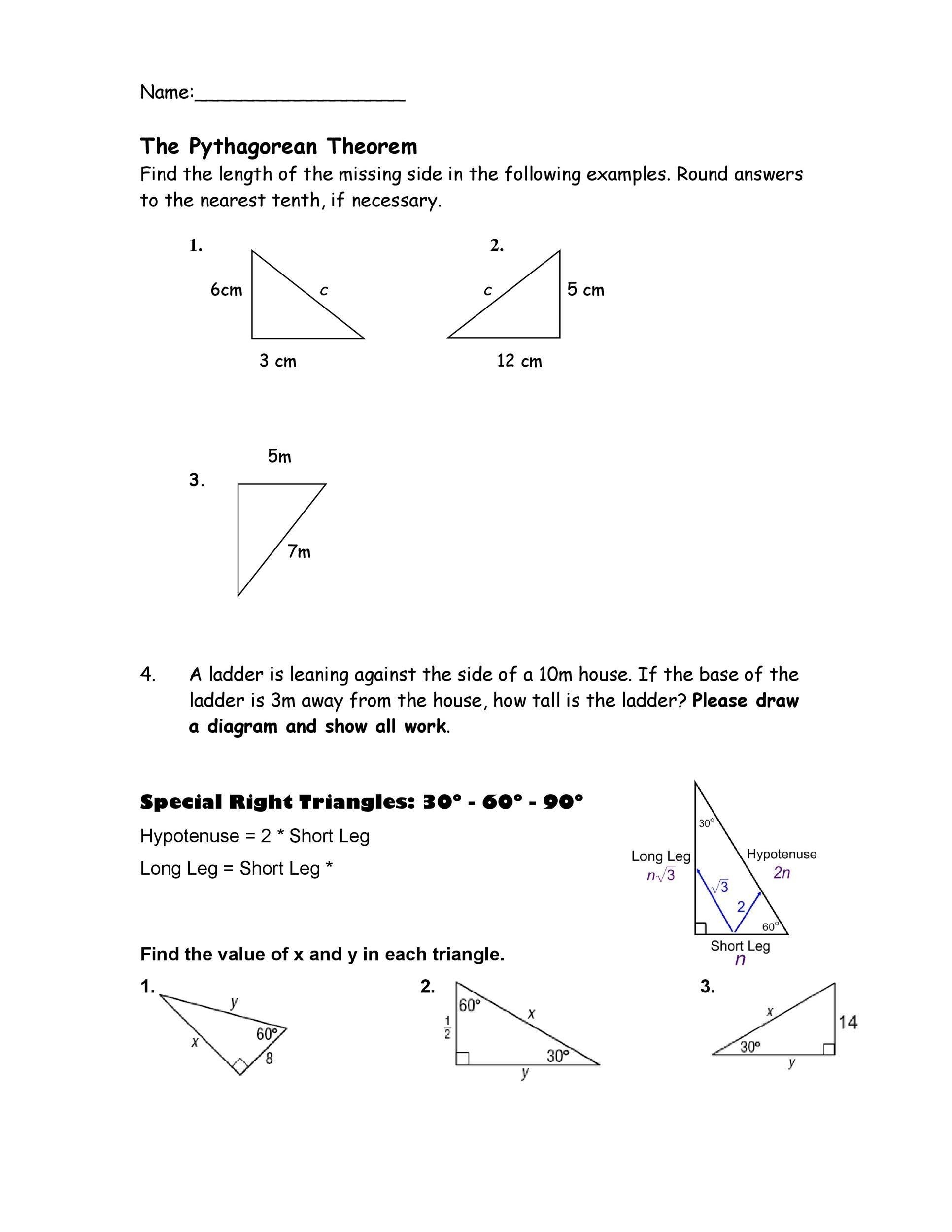 Free pythagorean theorem 27