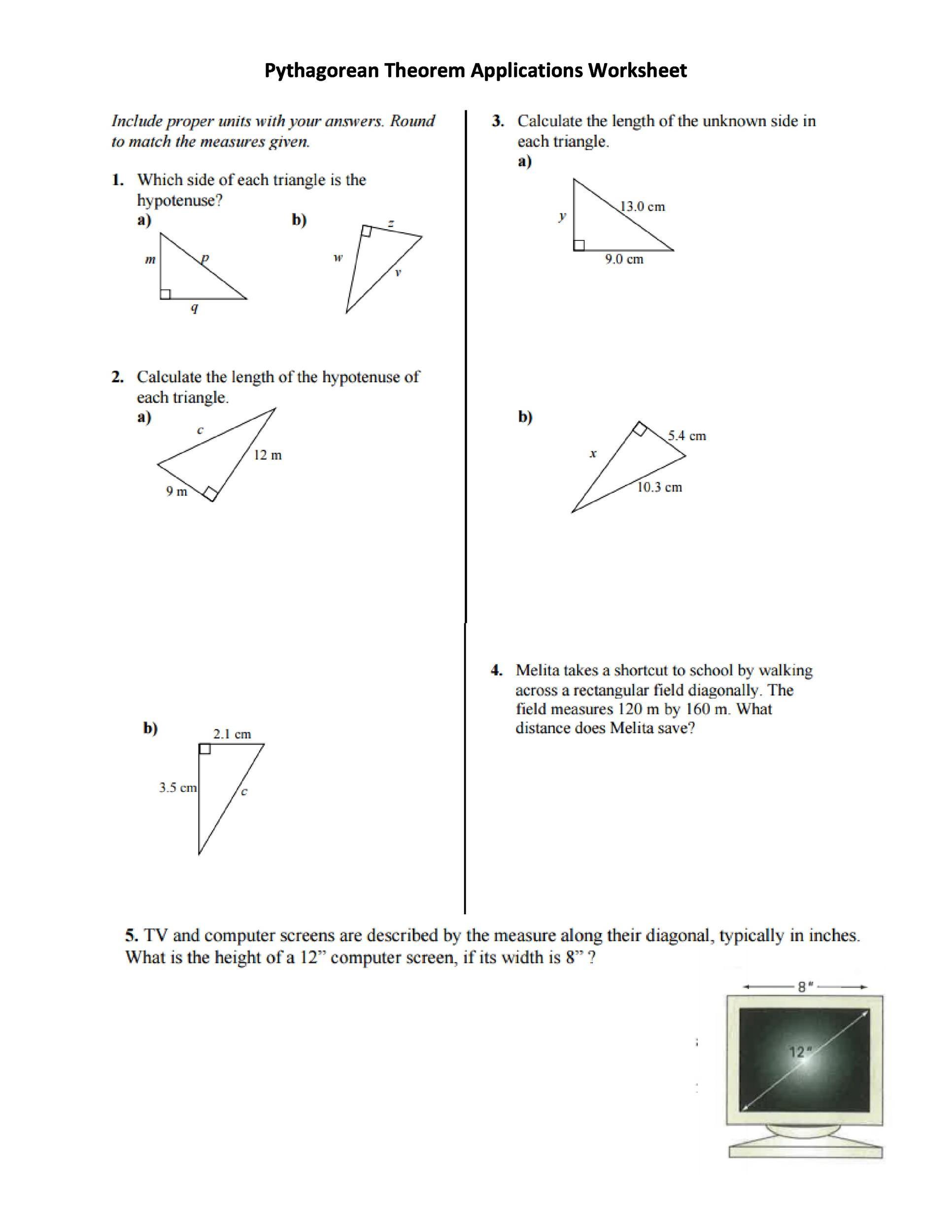 Free pythagorean theorem 37