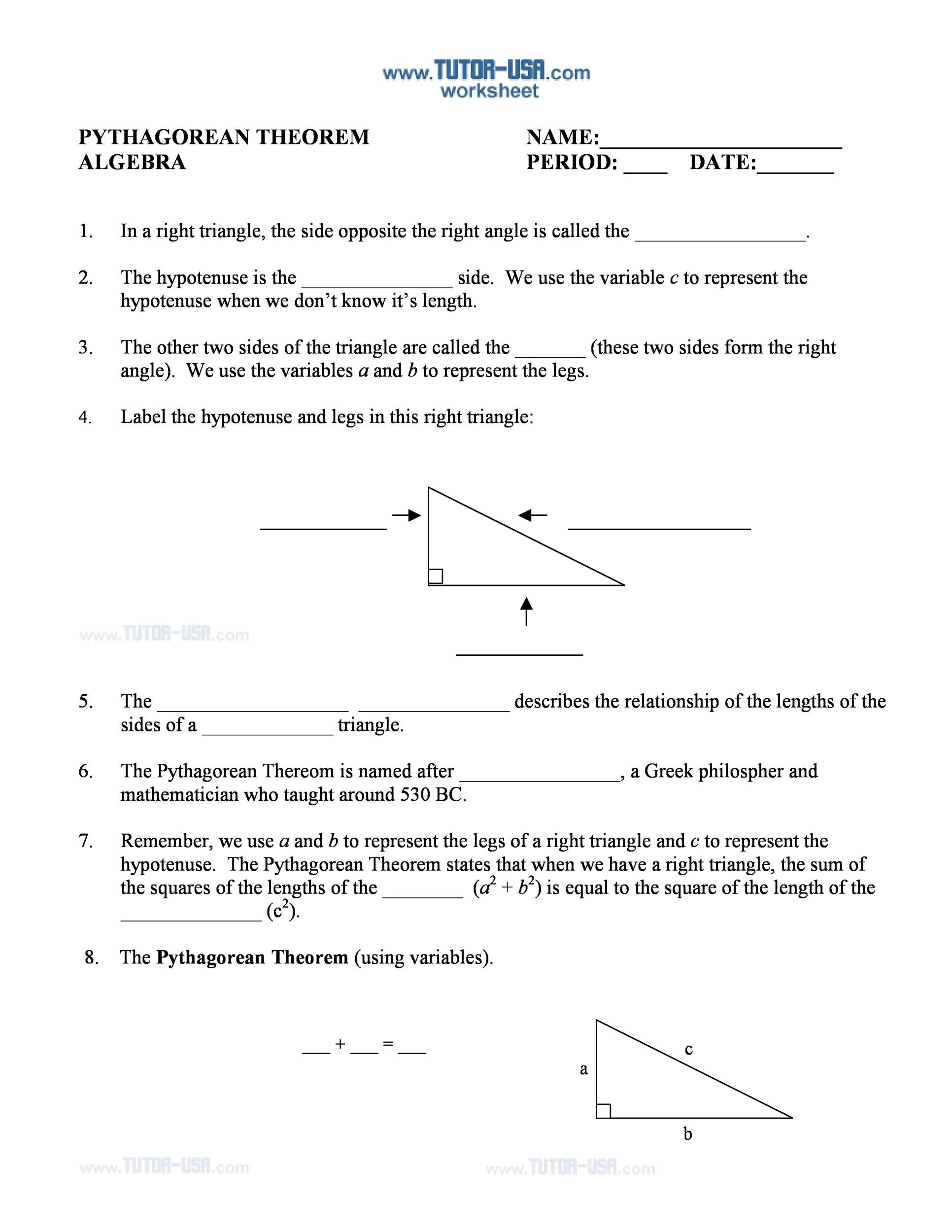 Free pythagorean theorem 41