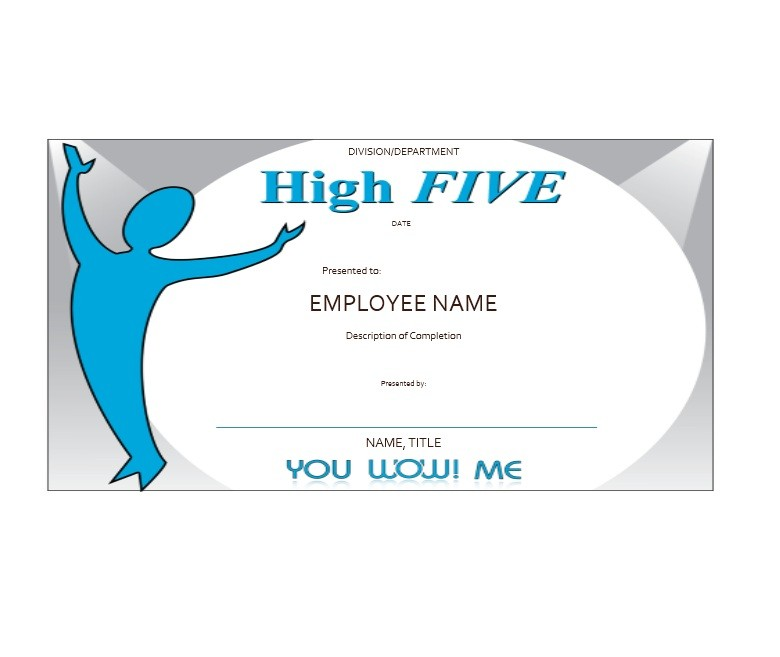 Free Certificate of Completion Template 35