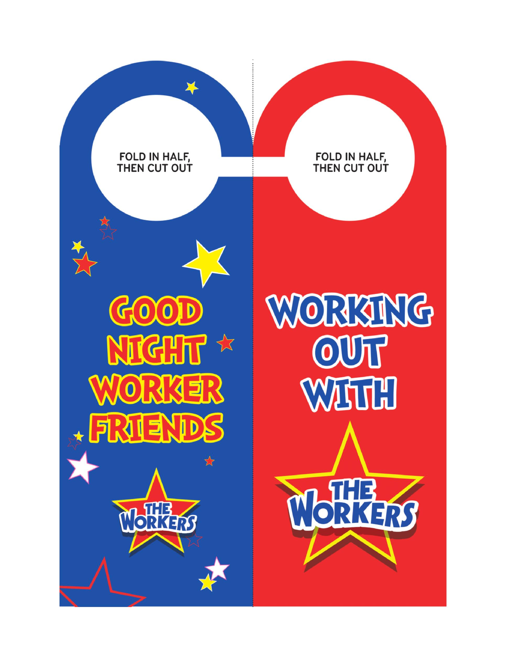 Free Door Hanger Template 26