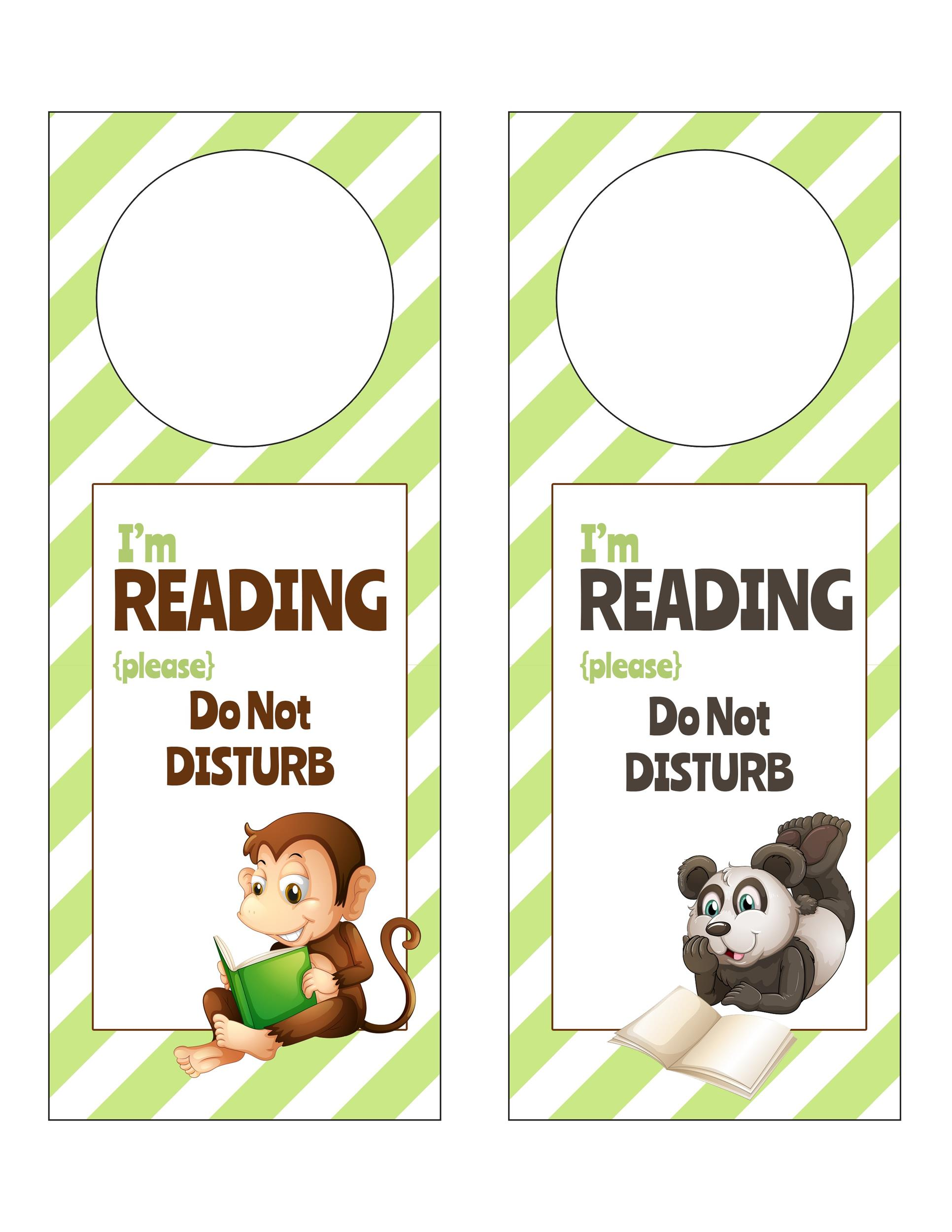 Free Door Hanger Template 40
