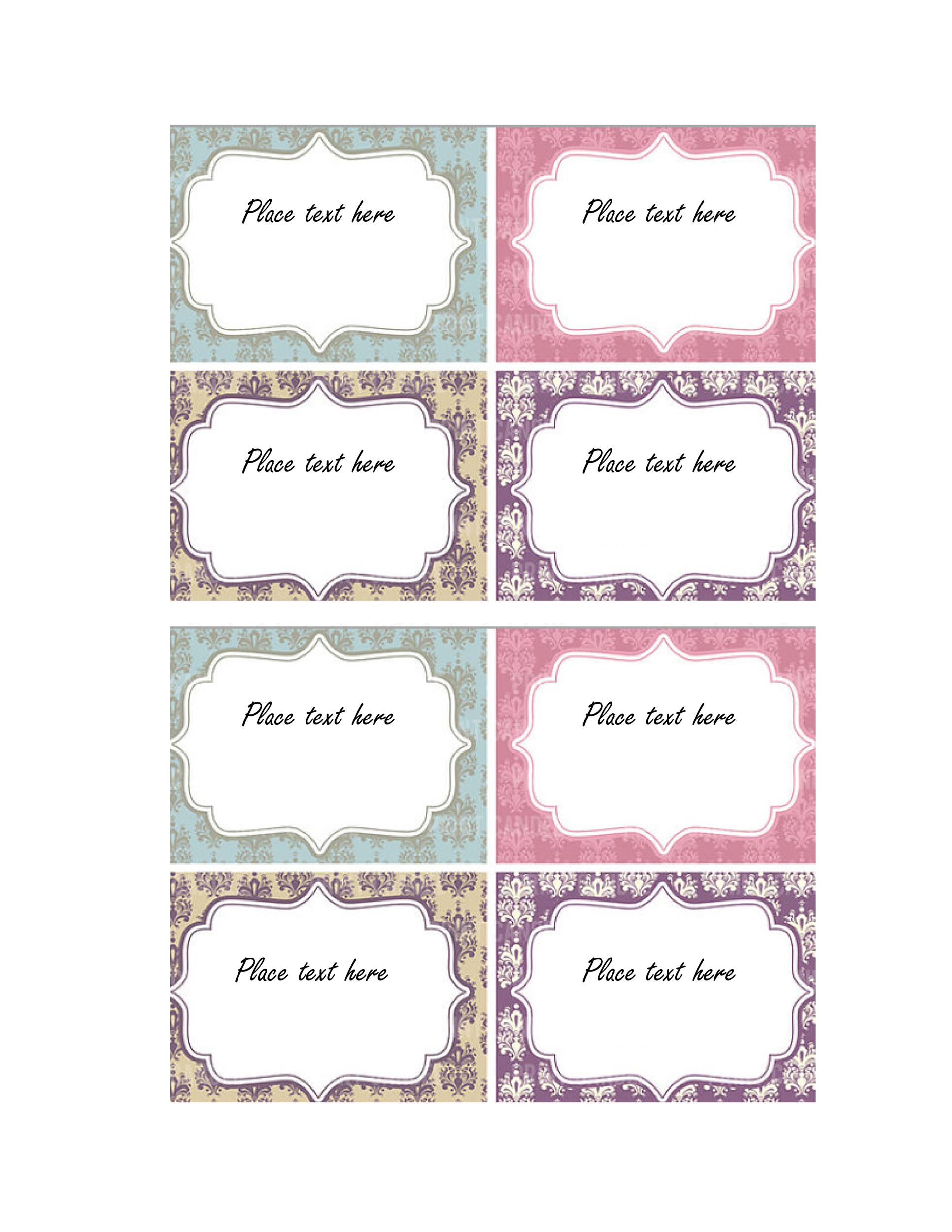 picture about Free Printable Favor Tags known as 44 Cost-free Printable Present Tag Templates ᐅ Template Lab