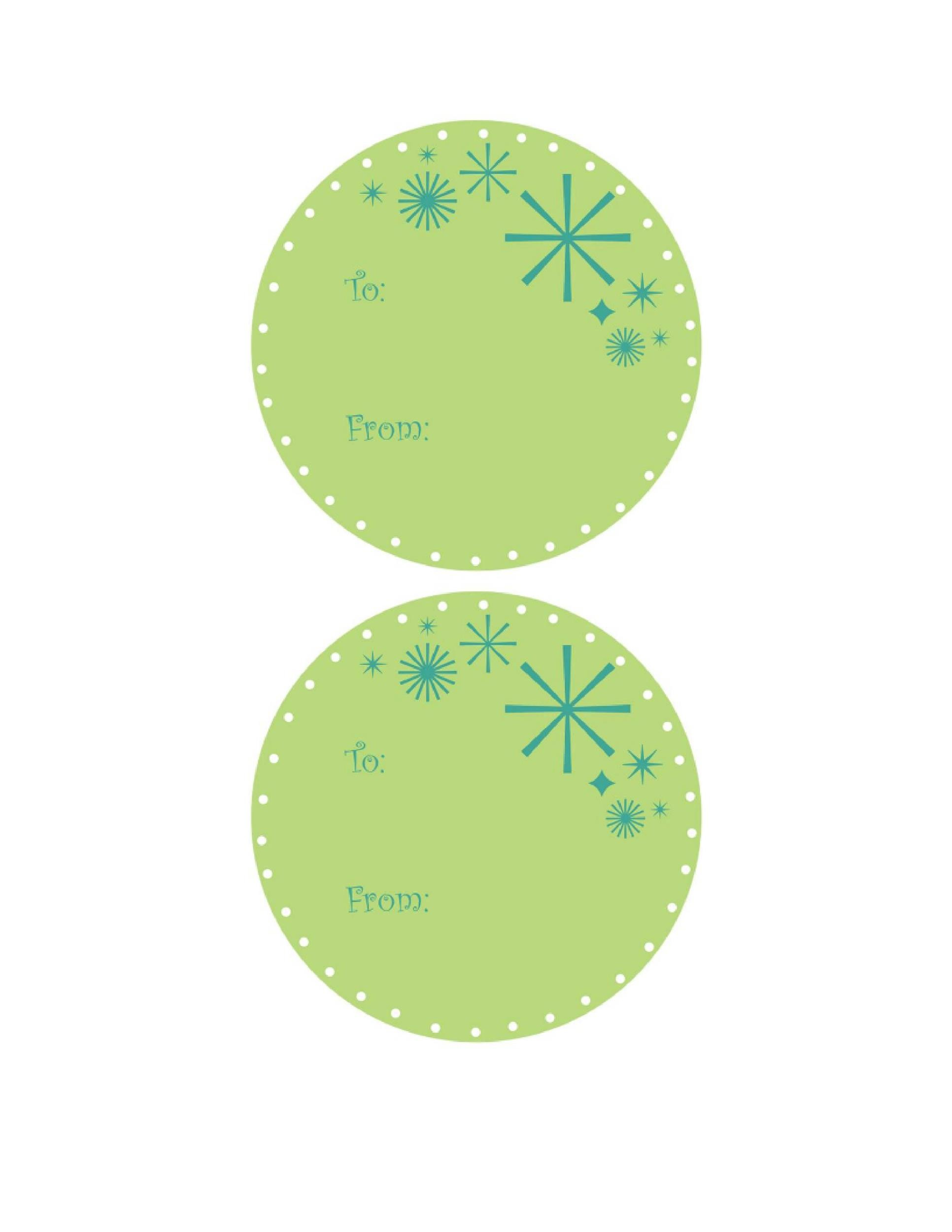 Free Gift Tag Template 05