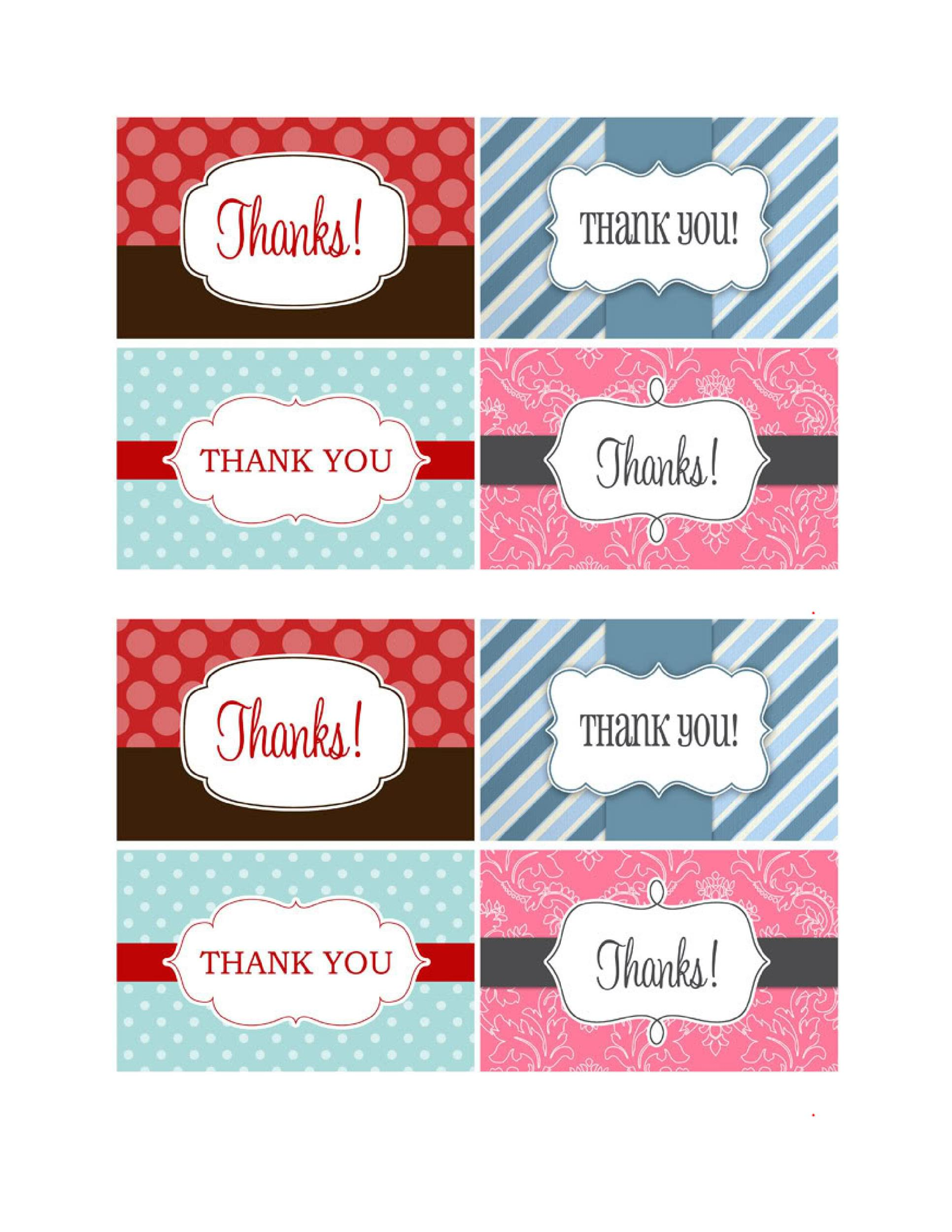 picture relating to Thank You Gift Tags Printable known as 44 No cost Printable Present Tag Templates ᐅ Template Lab