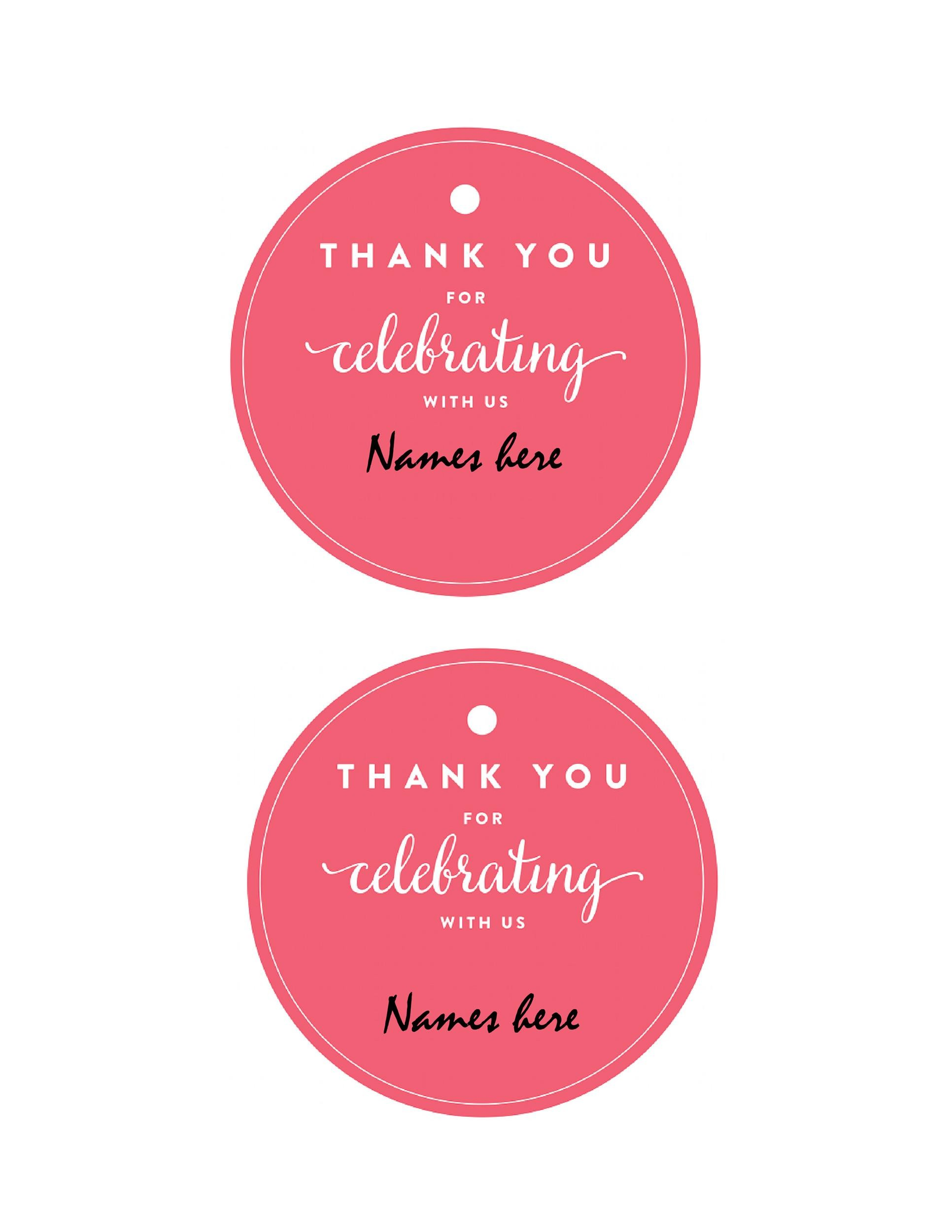 Free Gift Tag Template 08