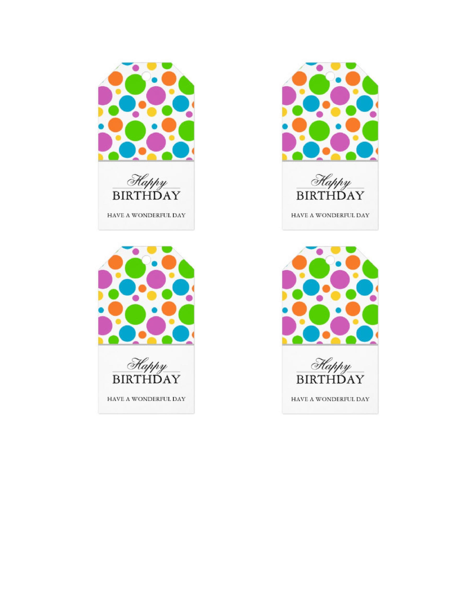 Free Gift Tag Template 10