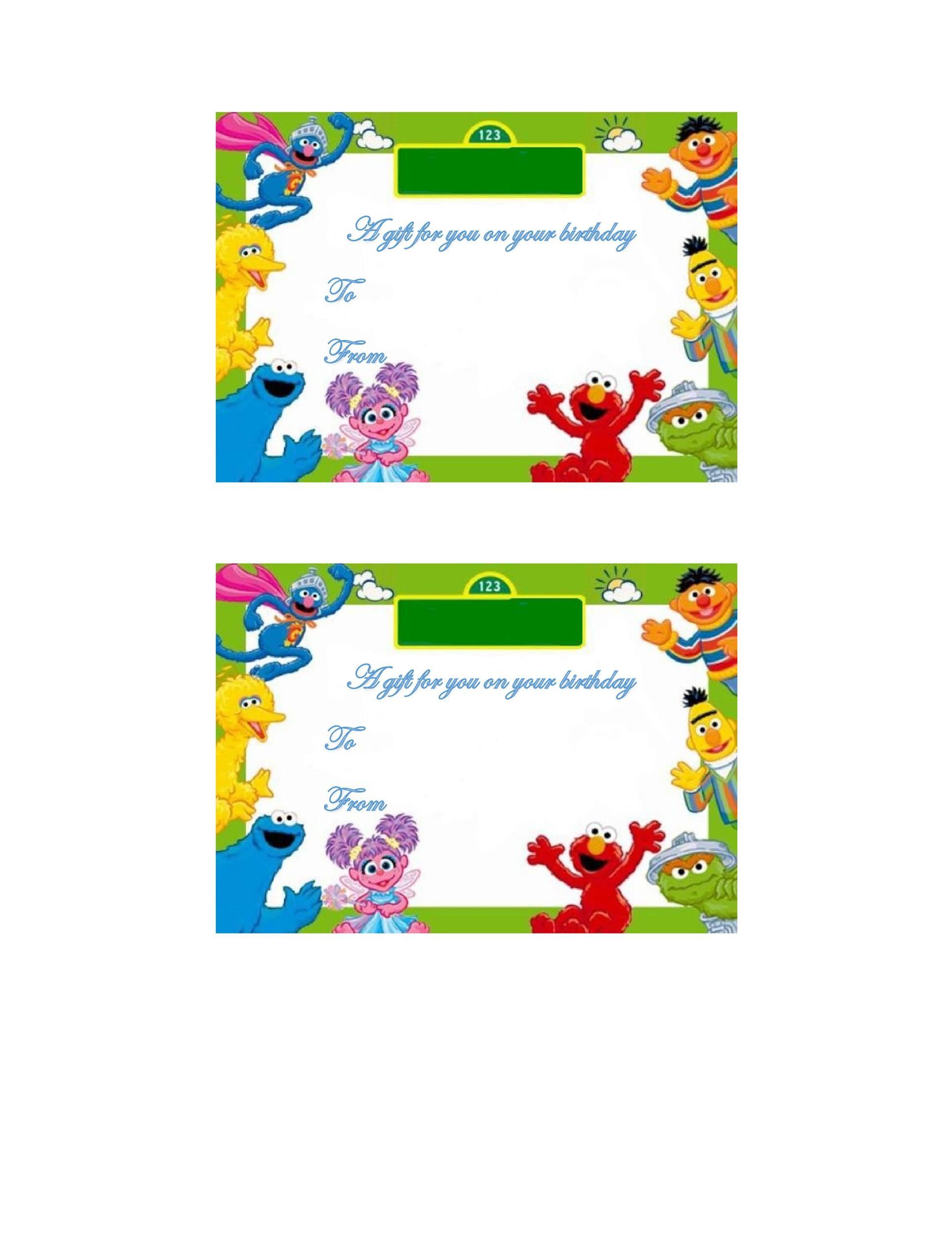 Free Gift Tag Template 28