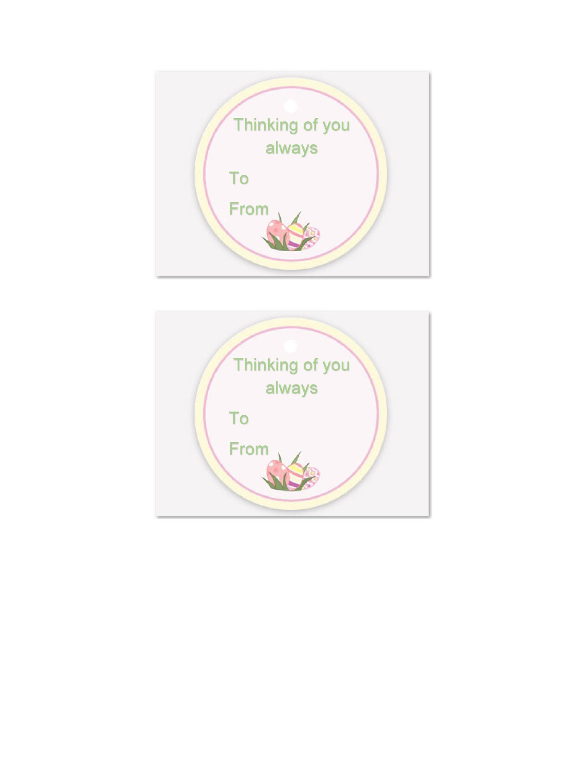 Free Gift Tag Template 39