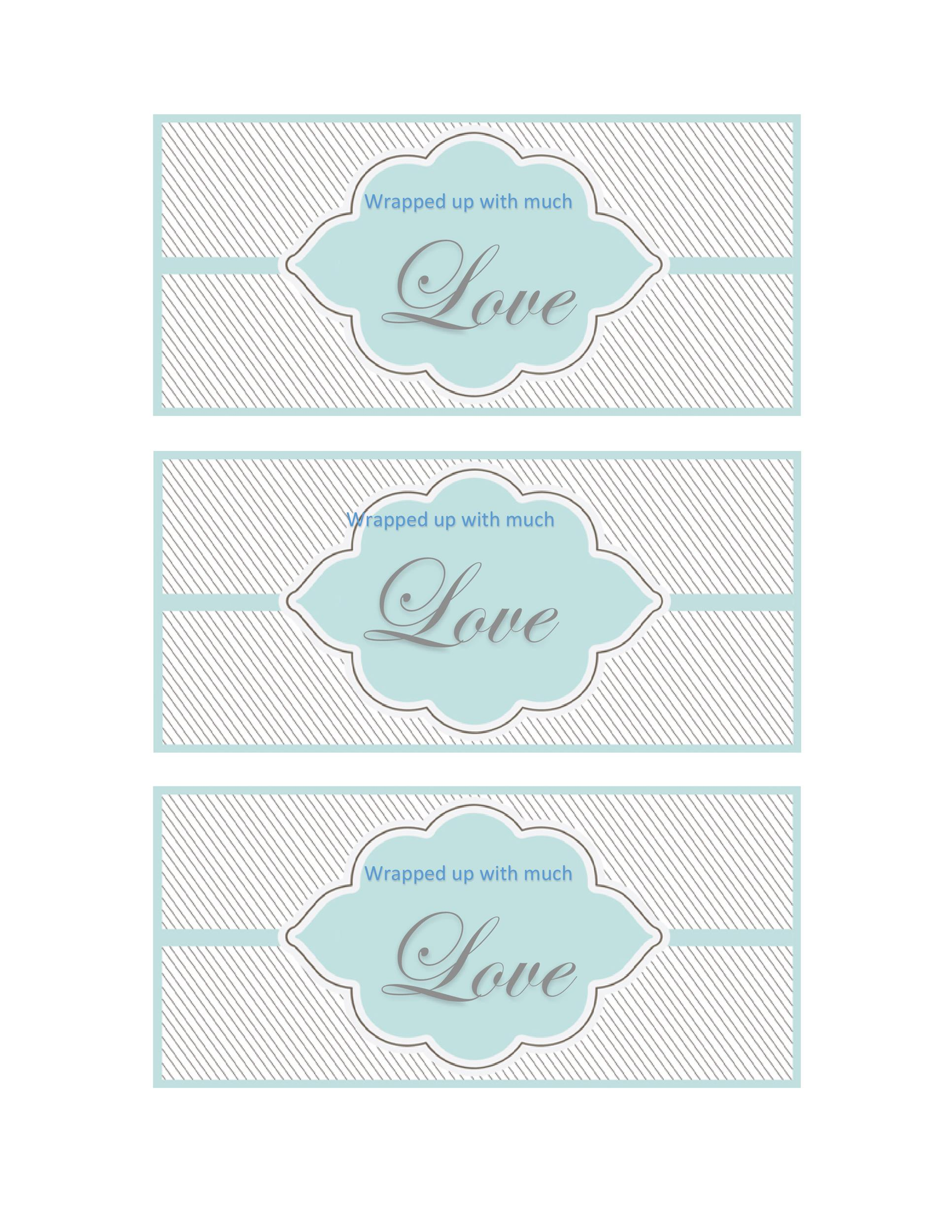 Free Gift Tag Template 40